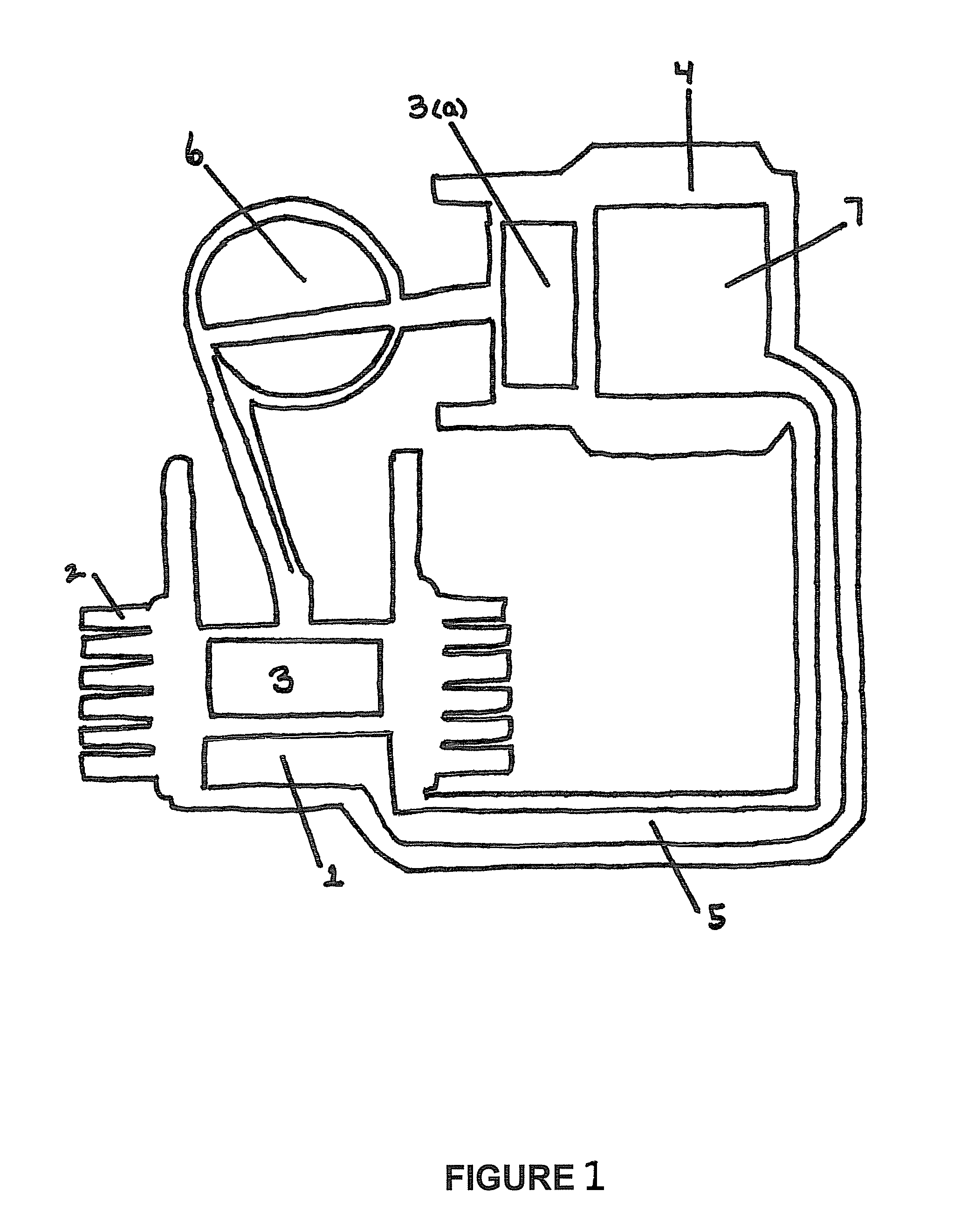 Patent Us8793992 Thermoelectric Device For Use With Stirling Engine Diagram Drawing