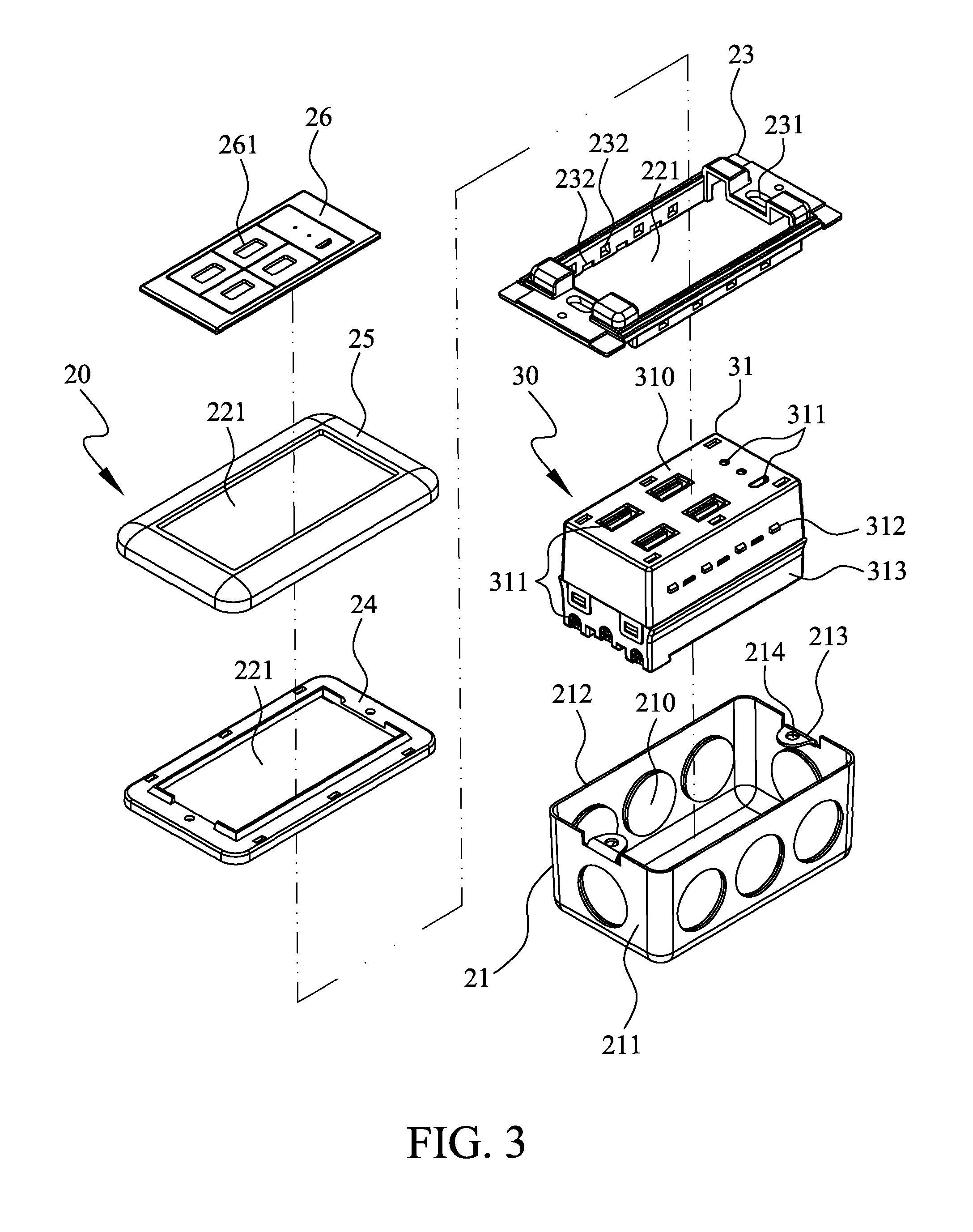 Patent US8794997 - Wall outlet type USB hub with independent ...