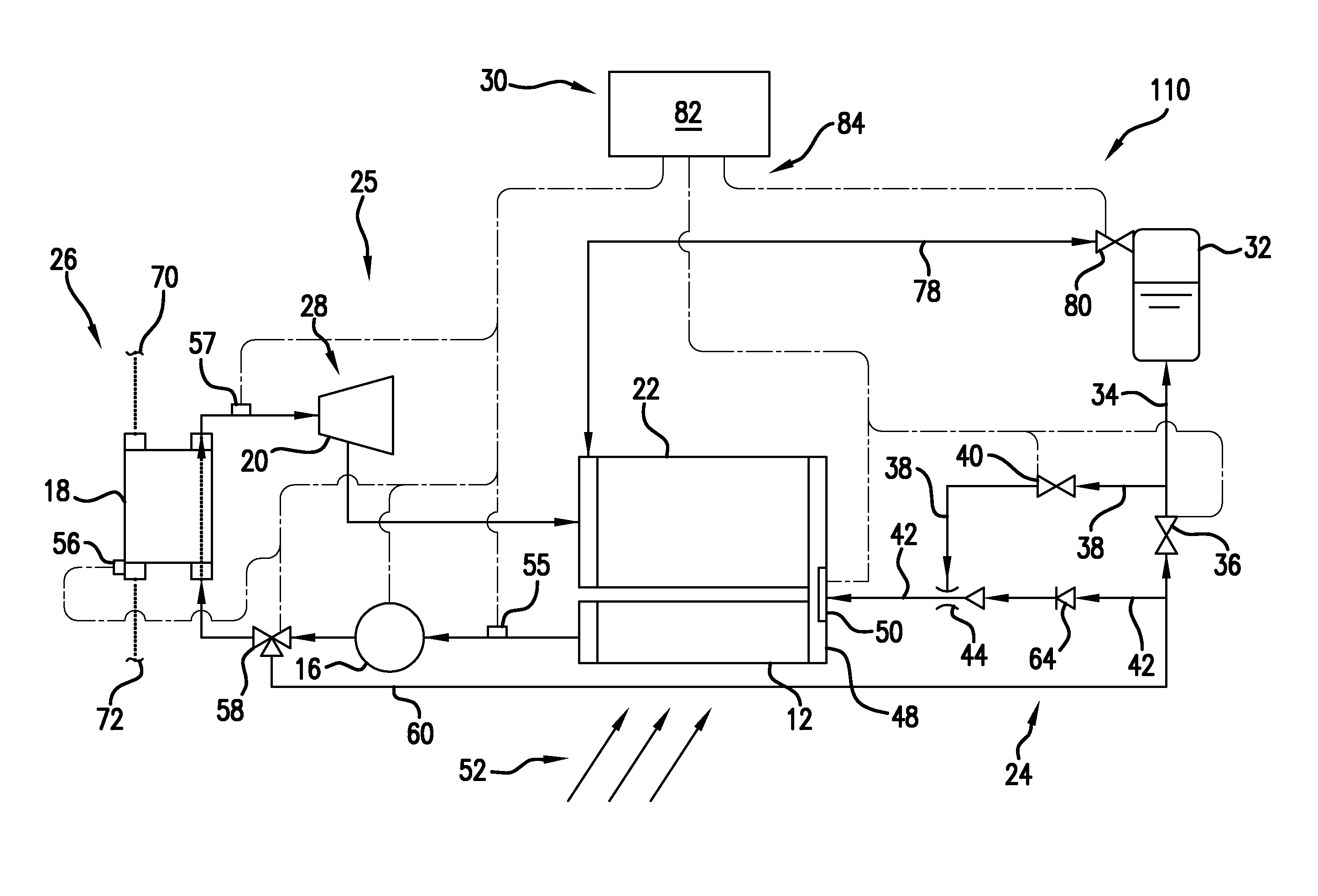 Patent US Rankine cycle waste heat recovery system