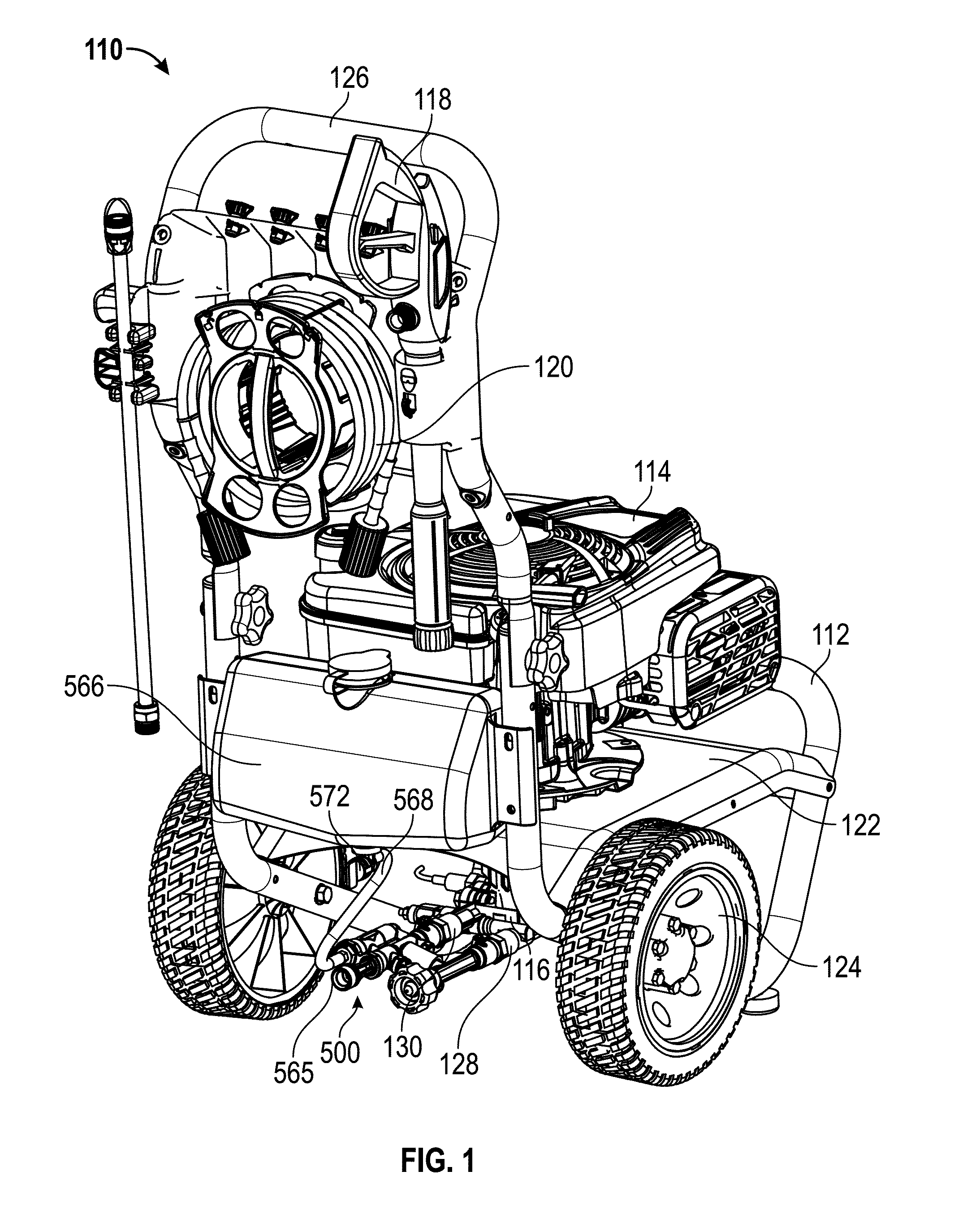 Patente Us8814531 Pressure Washers Including Jet Pumps Google 2001 Ford Windstar Trailer Wiring Harness Patent Drawing