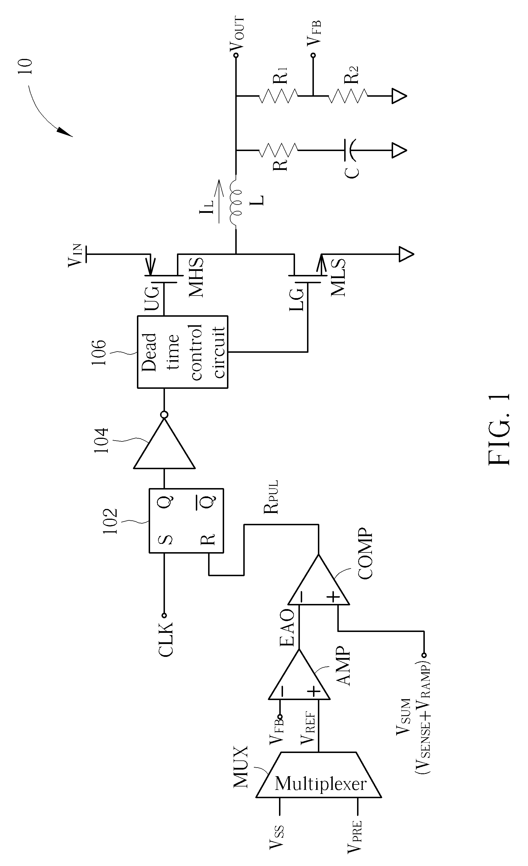 Patent Us8823350 Switching Regulator Capable Of Turning Off Lower Time Drawing