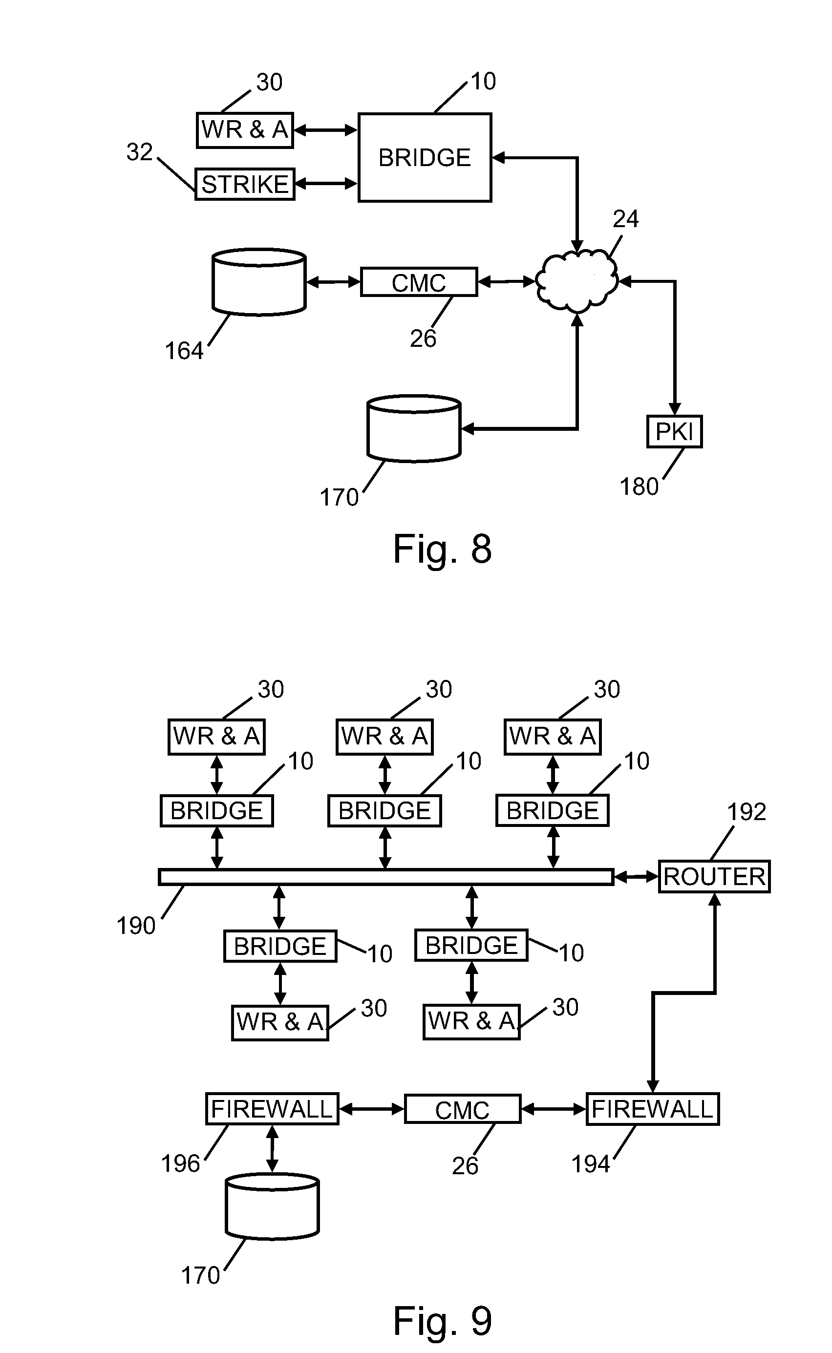 patent us8836470 system and method for interfacing facility patent drawing