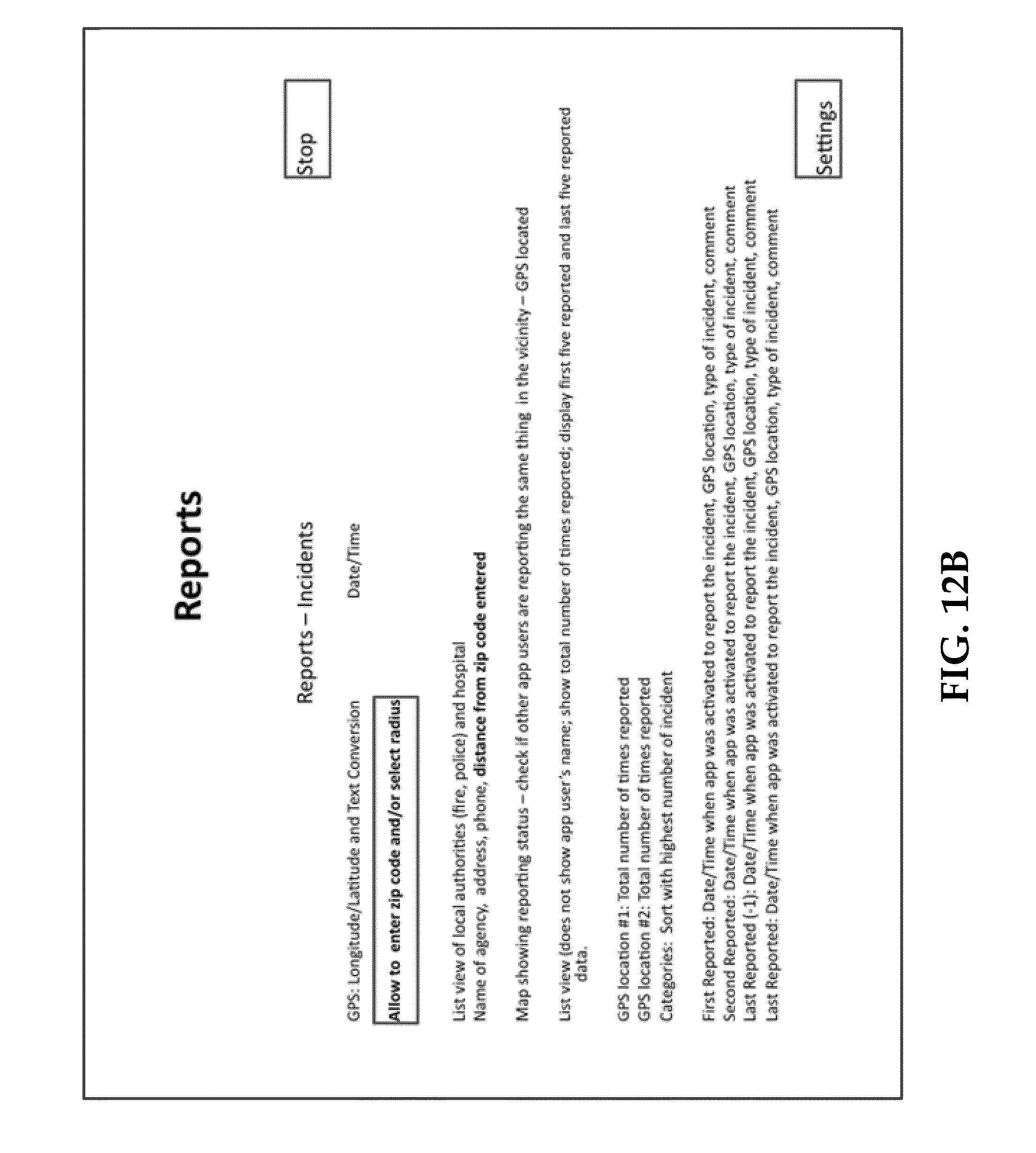 Patent US Emergency Communications Management Google - Us zip code type