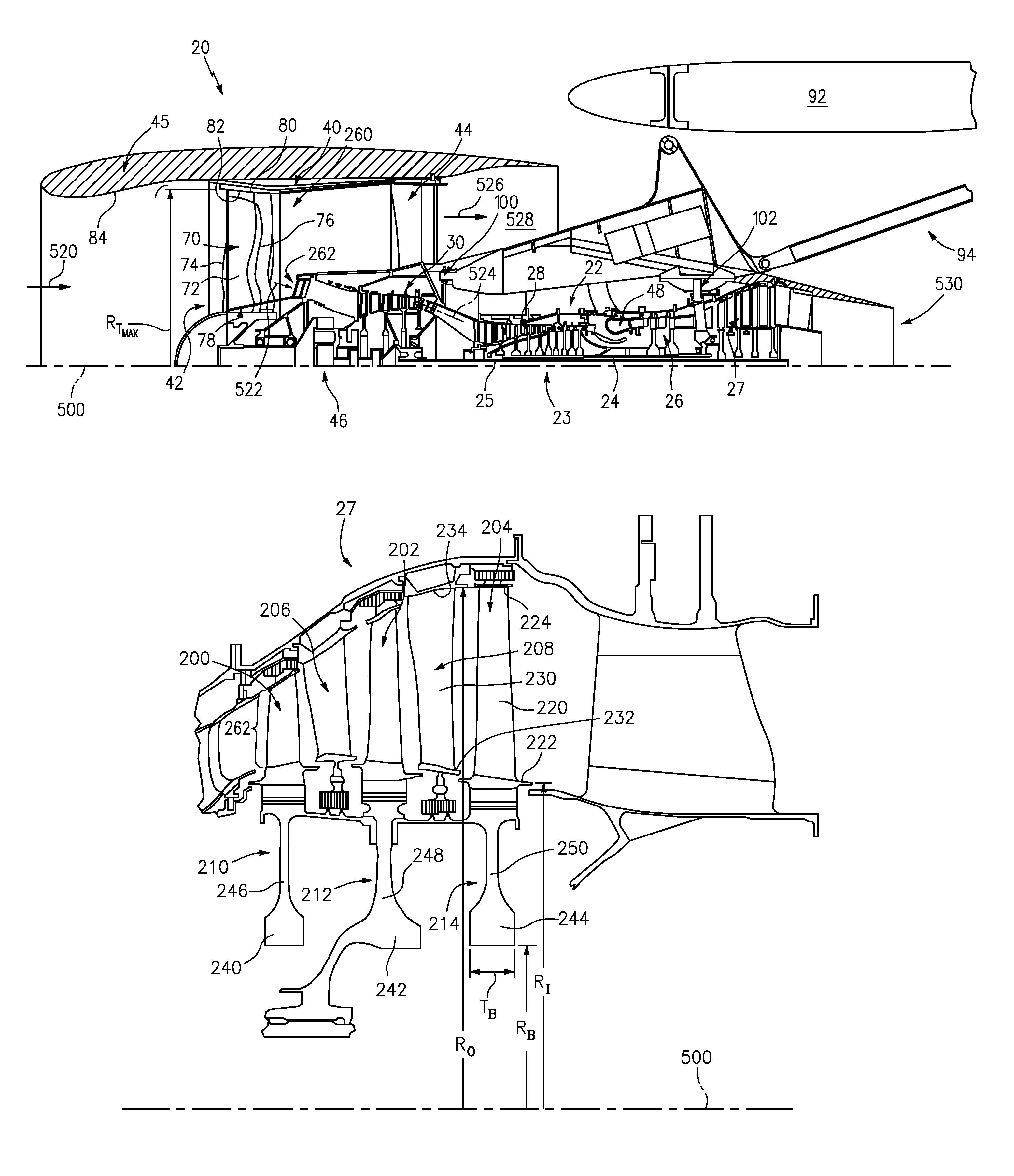 pratt whitney geared turbofan engine