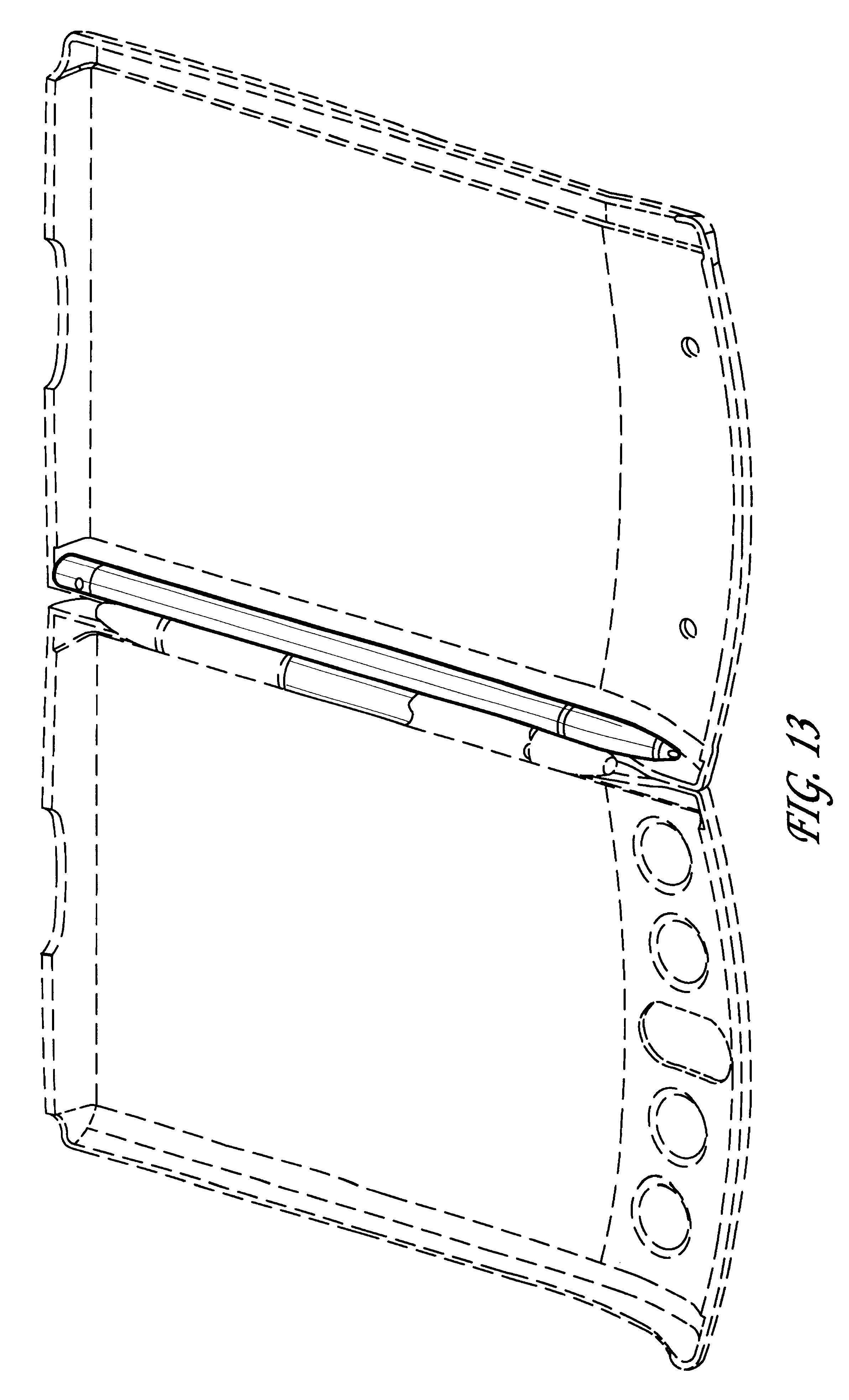 Patent usd436963 detachable case attachment rail for Ideo product development