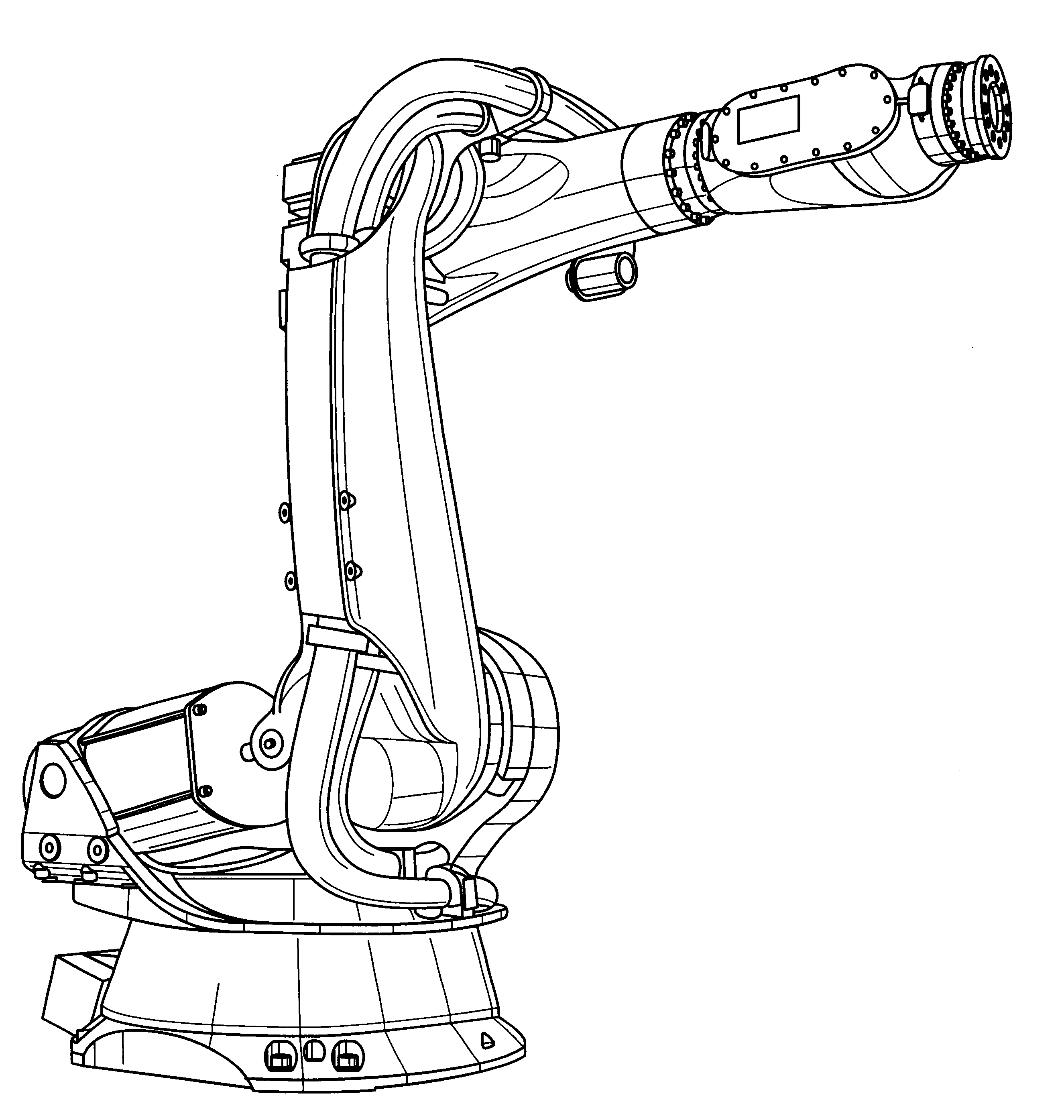 Dof Industrial Motor Drawing  Buy  Robot Arm