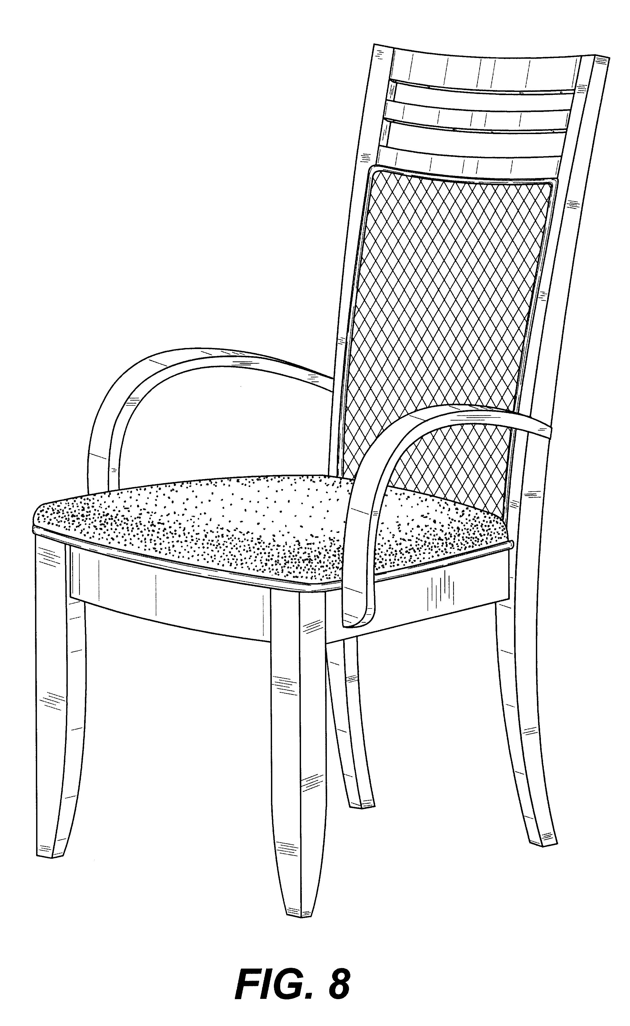 家具 简笔画 手绘 线稿 椅 椅子 2390_3895 竖版 竖屏