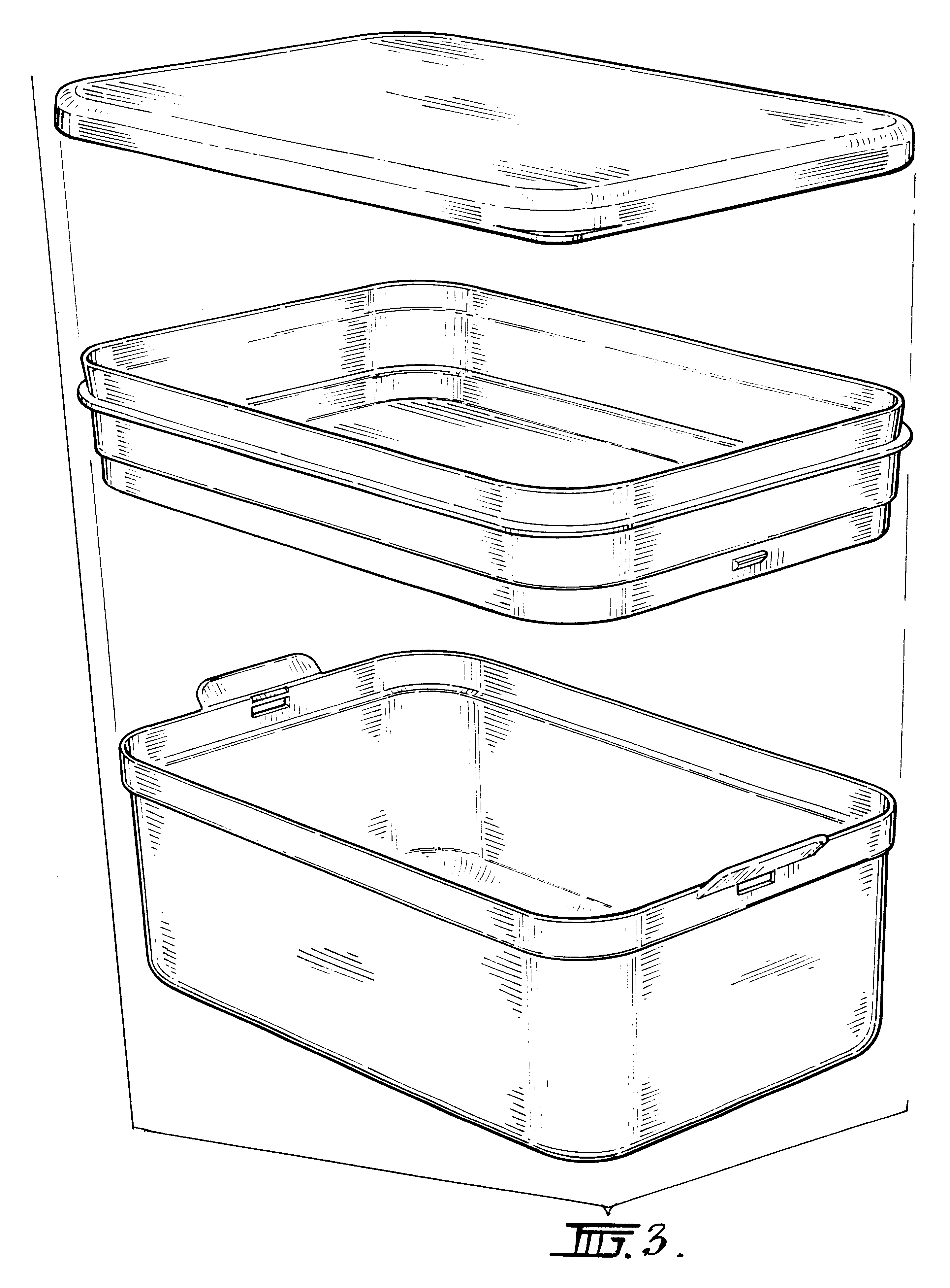 Patent USD472773 - Double Decker Lunch Box - Google Patents
