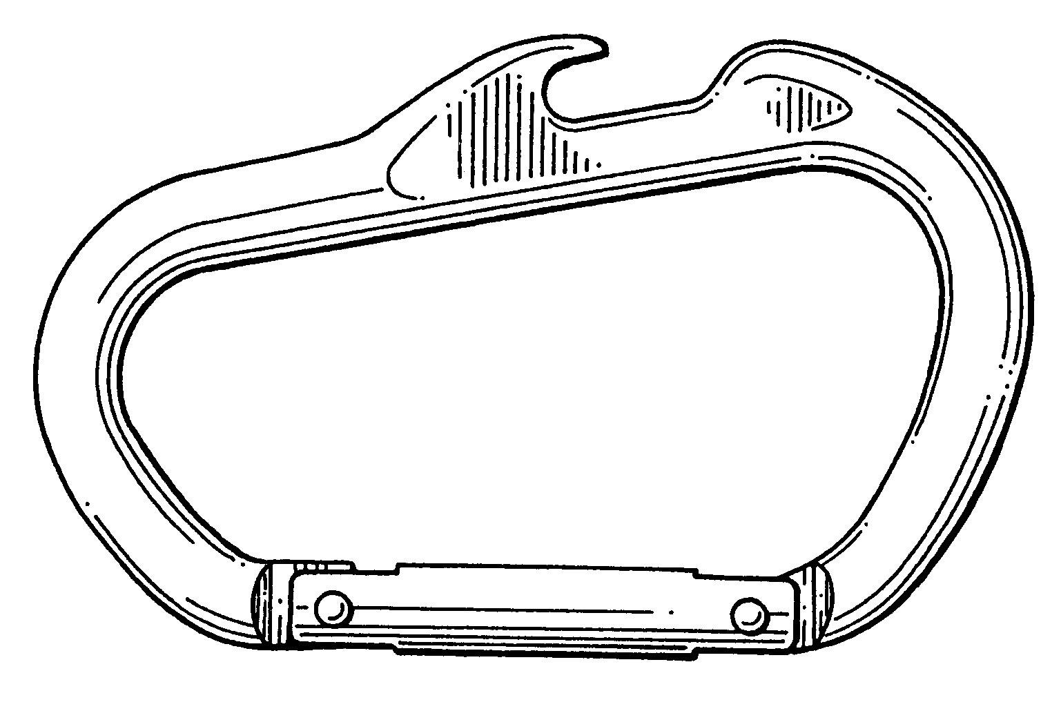 patent usd475591 snap hook bottle opener google patents. Black Bedroom Furniture Sets. Home Design Ideas