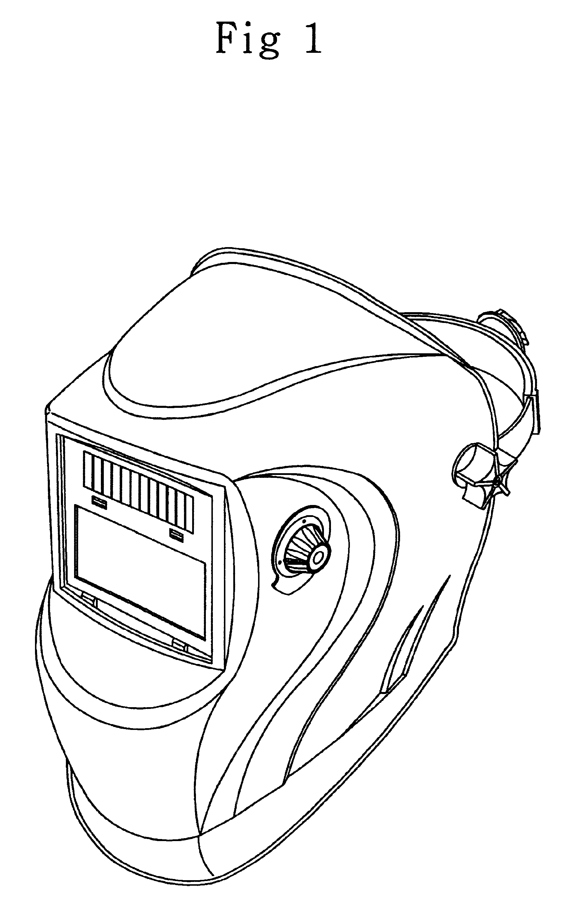 Patent USD482503 Welding mask