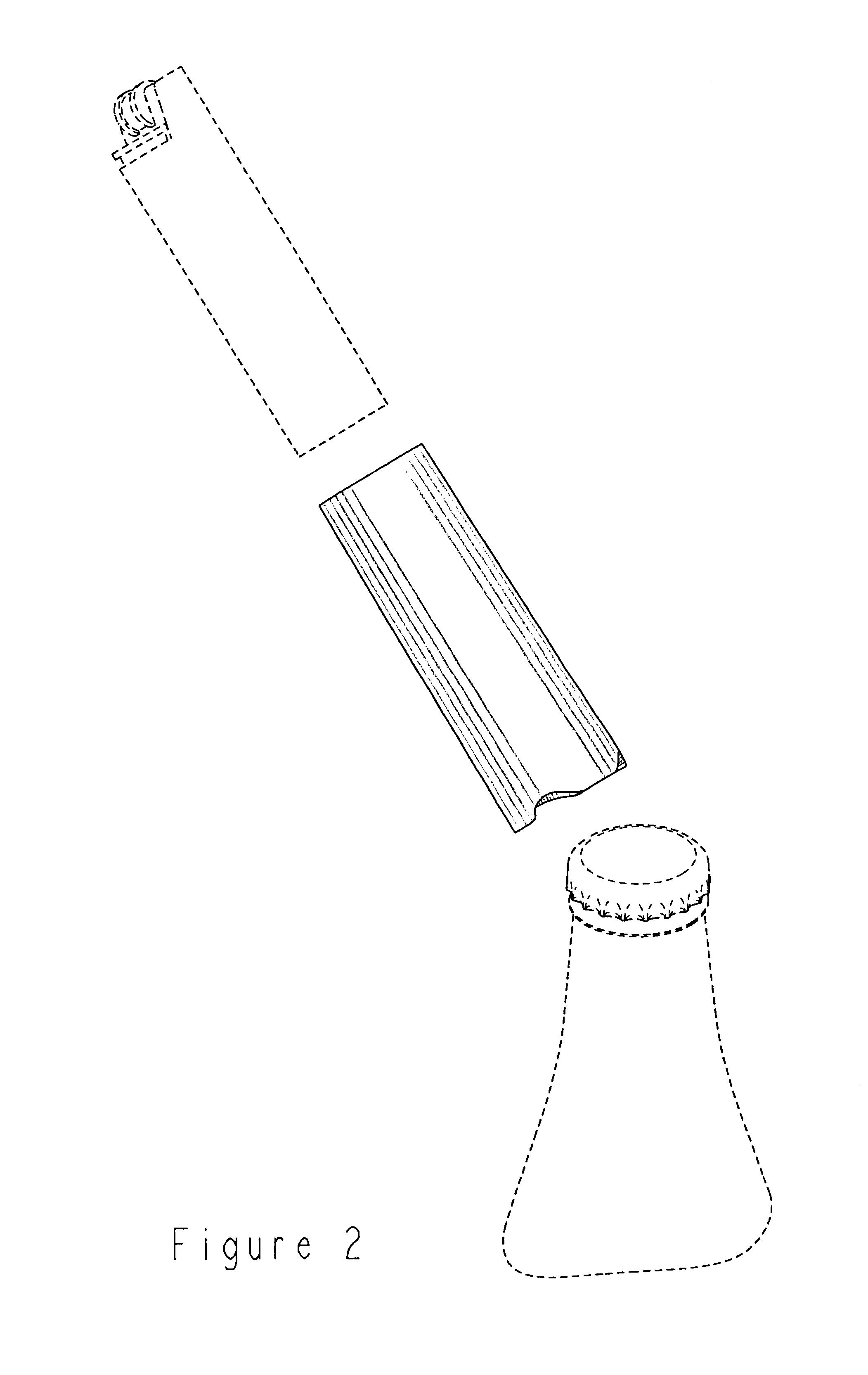 patent usd488690 bottle opener for disposable lighter google patents. Black Bedroom Furniture Sets. Home Design Ideas
