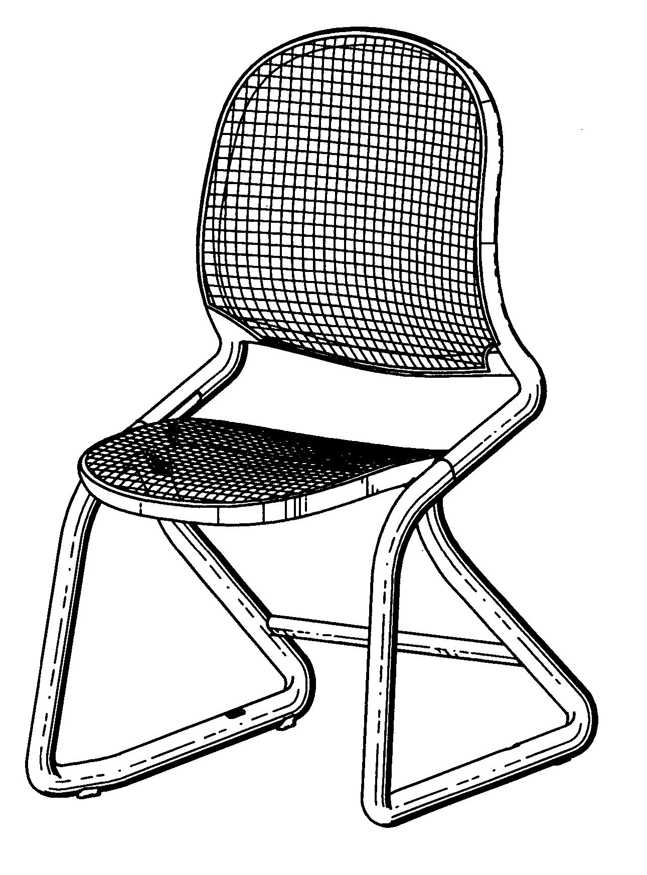 家具 简笔画 手绘 线稿 椅 椅子 1290_1744 竖版 竖屏