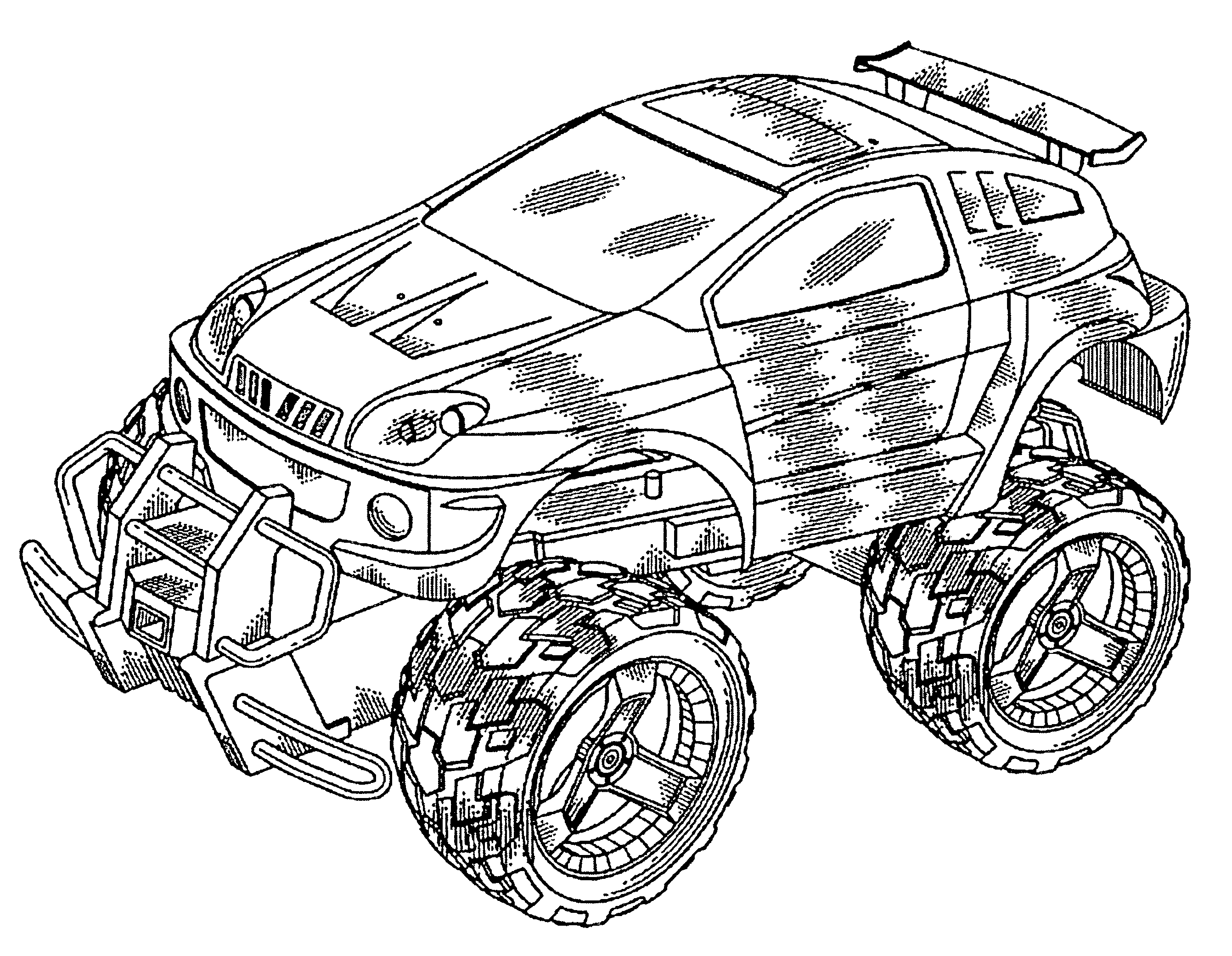 patent usd498798 - remote control toy car