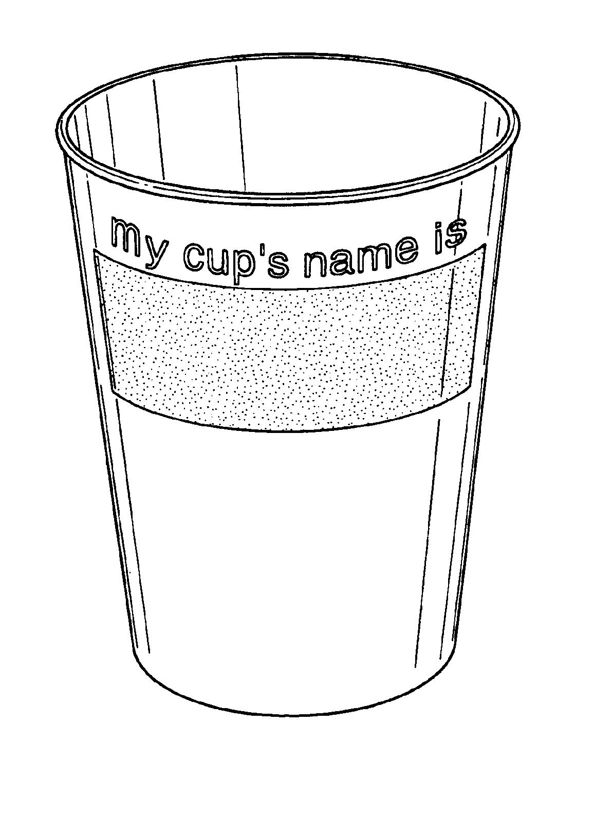 冰激凌杯子简笔画