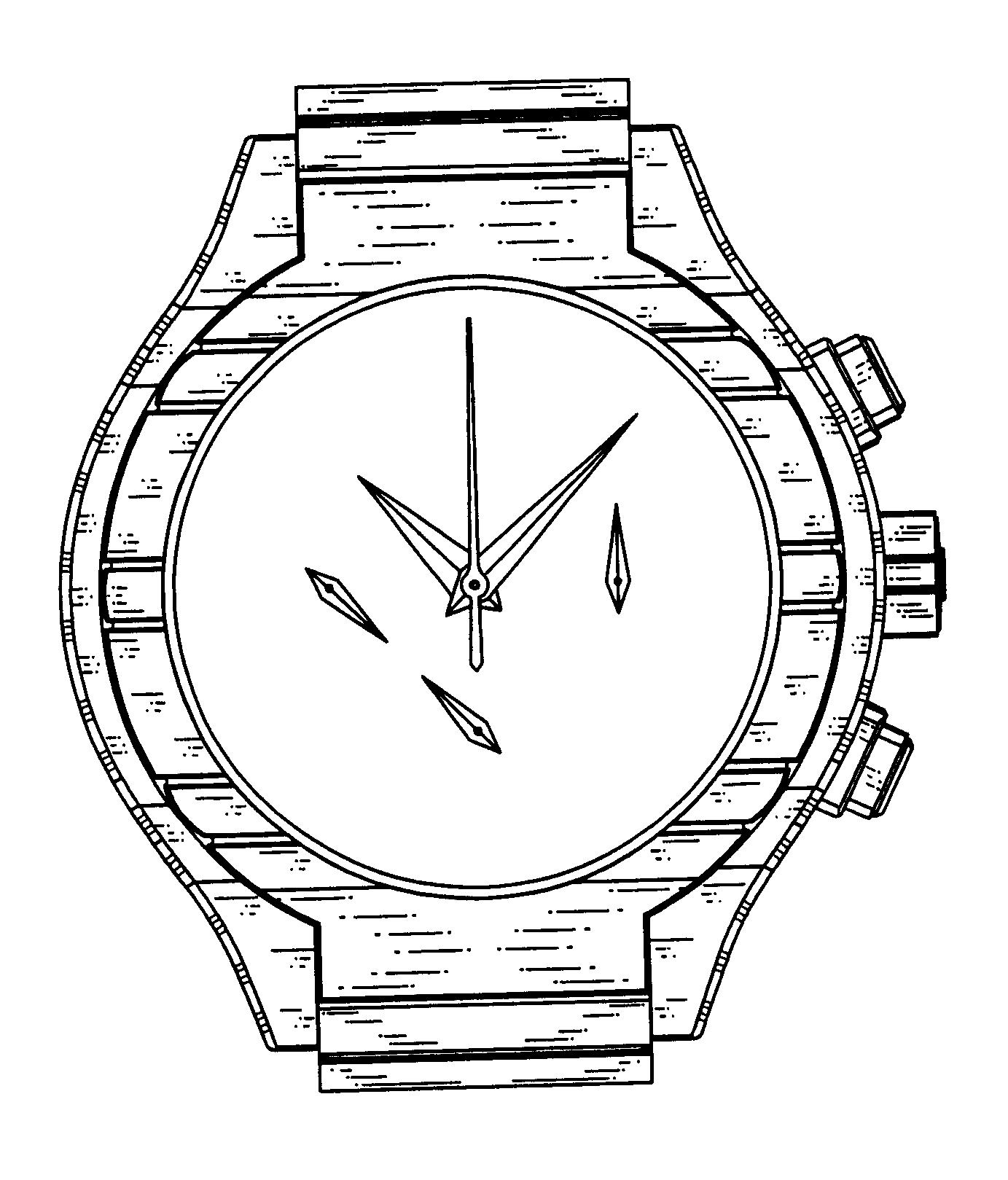 简笔画 手表 手绘 线稿