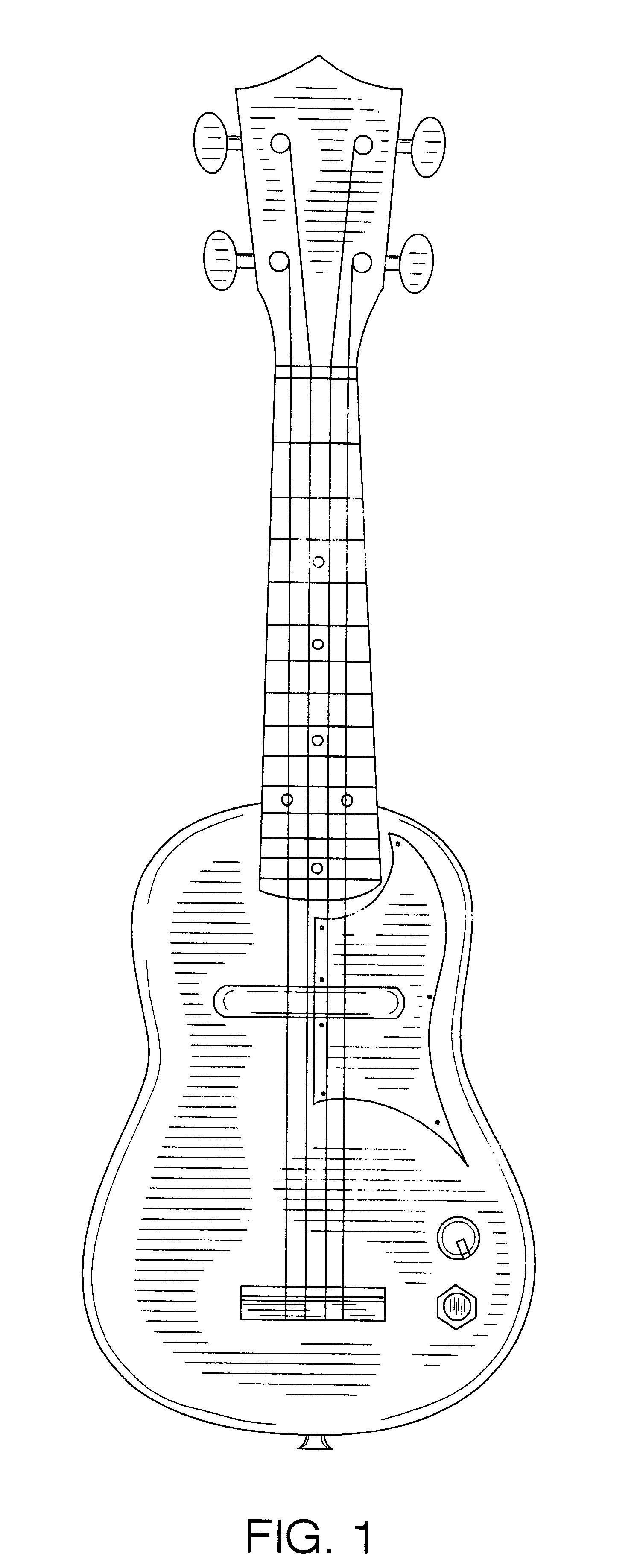patent usd521046 - electrical ukulele