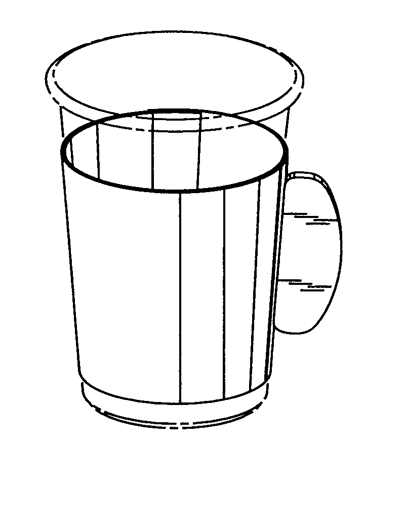 粉彩茶壶和杯子 - 古董_乐乐简笔画