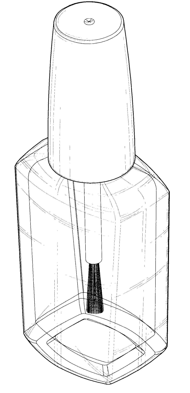 Patent USD535104 - Nail polish bottle - Google Patents