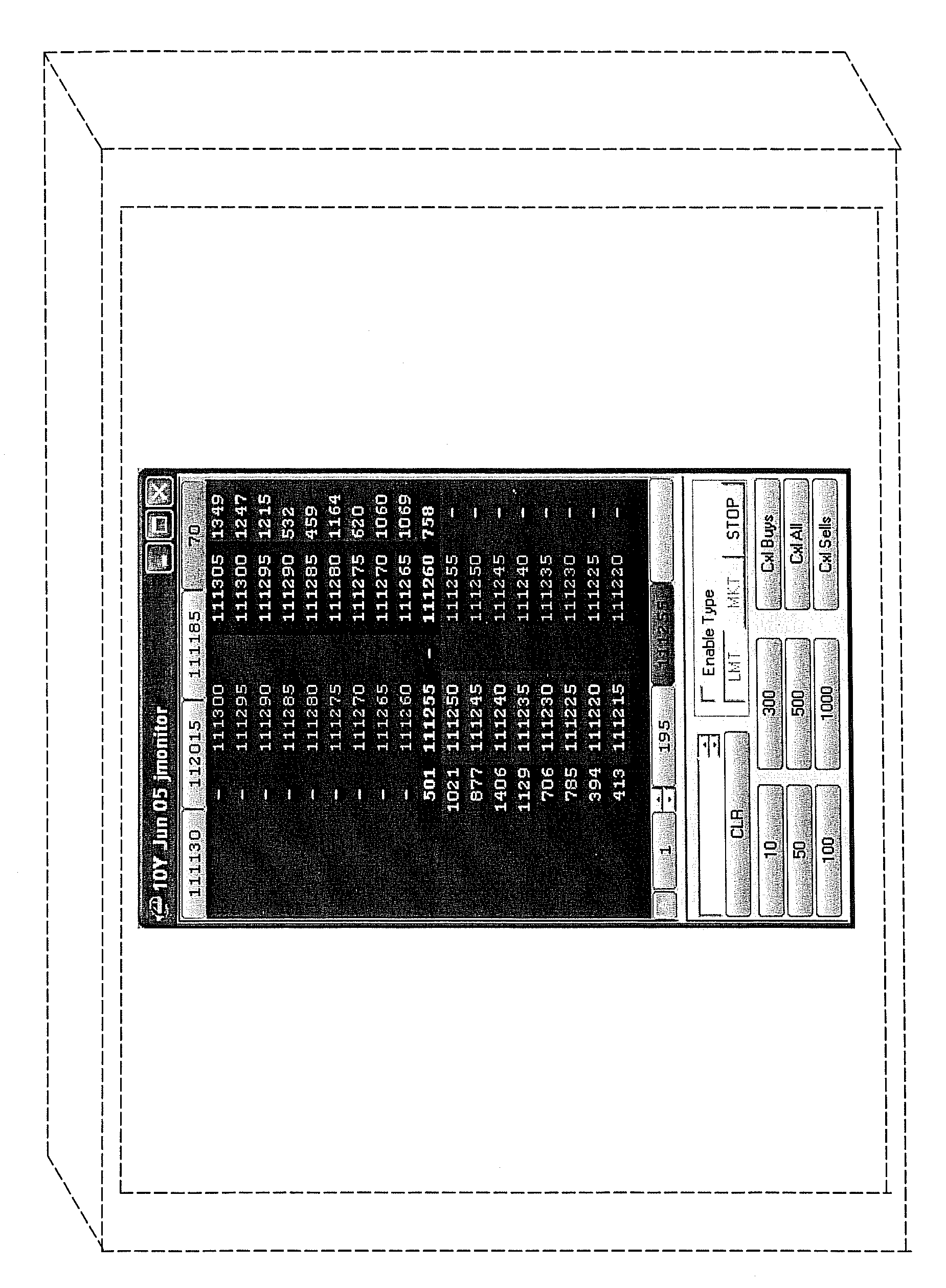 Trading system user interface