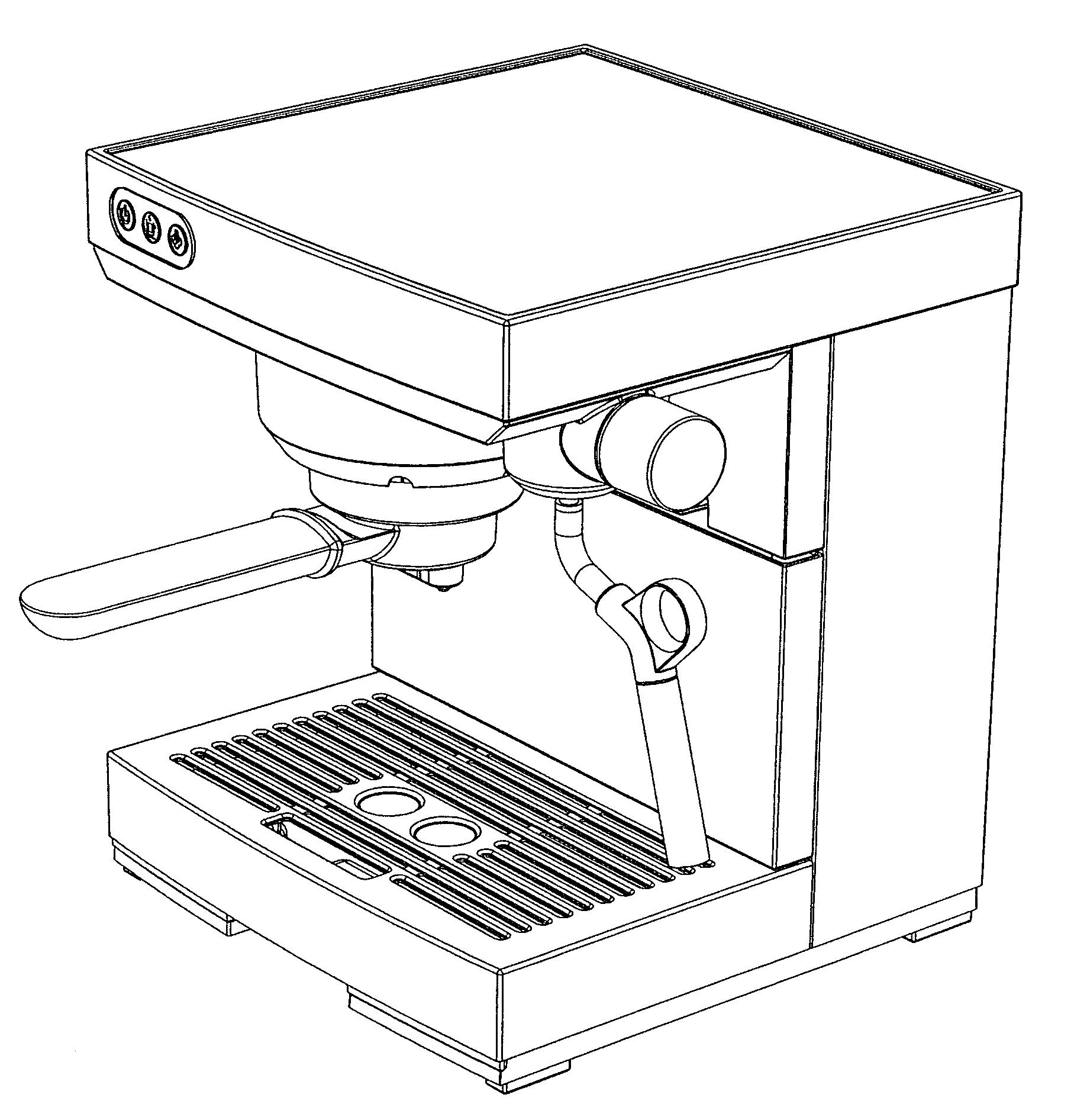 Coffee Maker Drawing ~ Patent usd coffee maker google patents