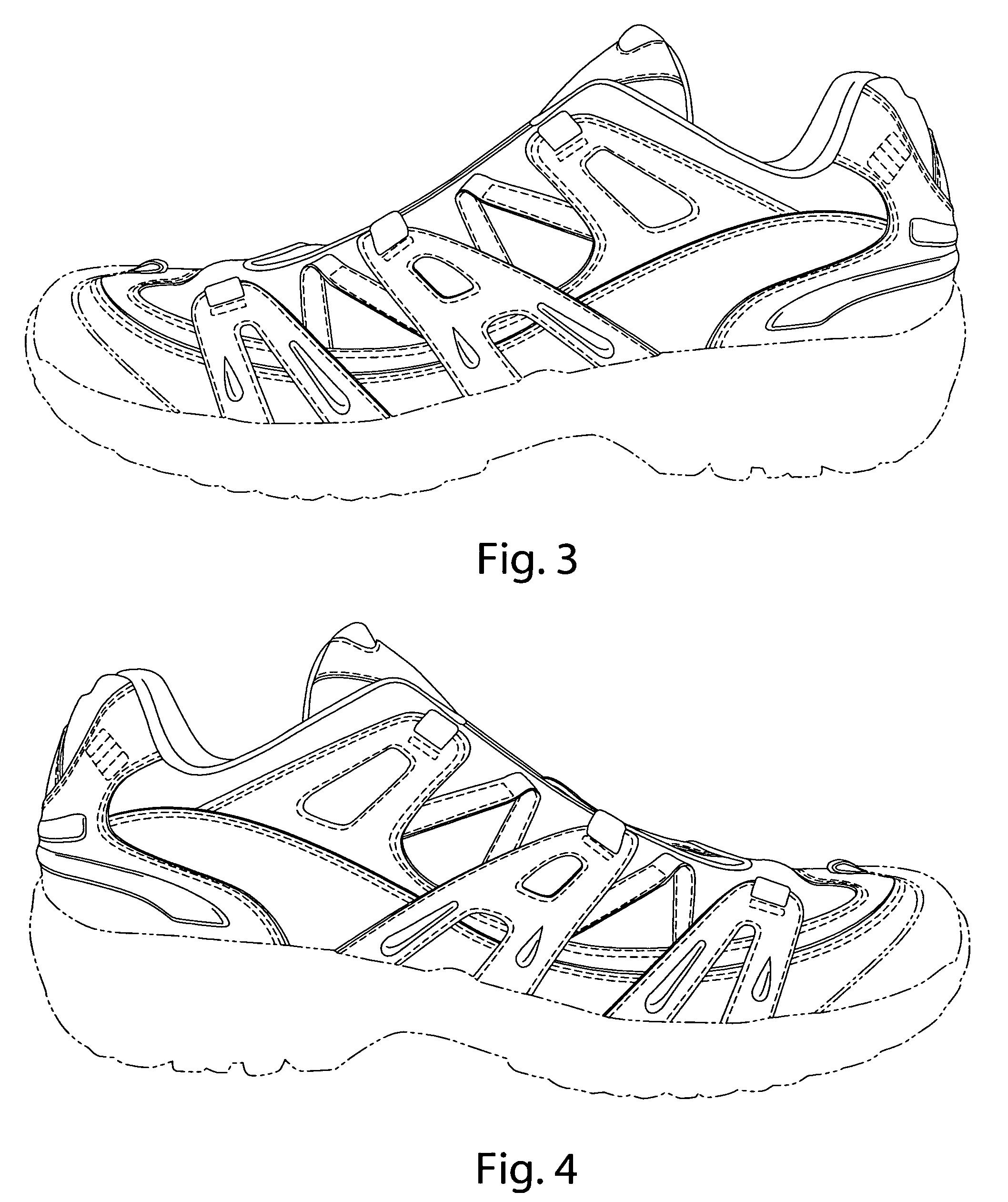简笔画 手绘 线稿 鞋 运动鞋 2116_2522