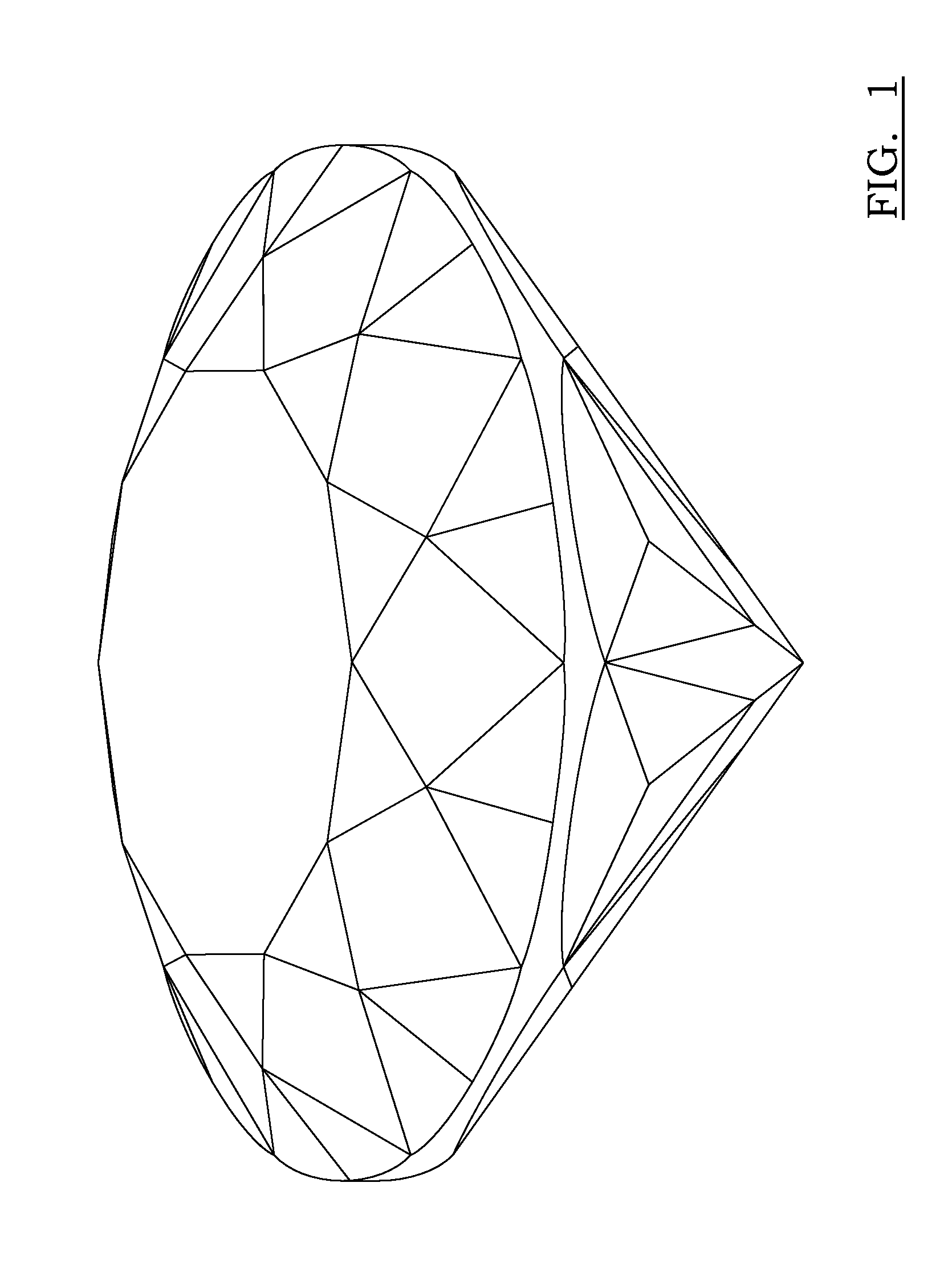 patent usd632205 eightyone facet brilliant cut diamond