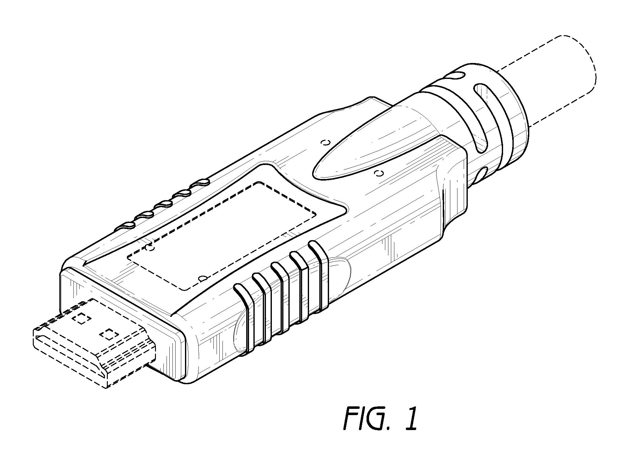 patent usd637159 - hdmi cable connector