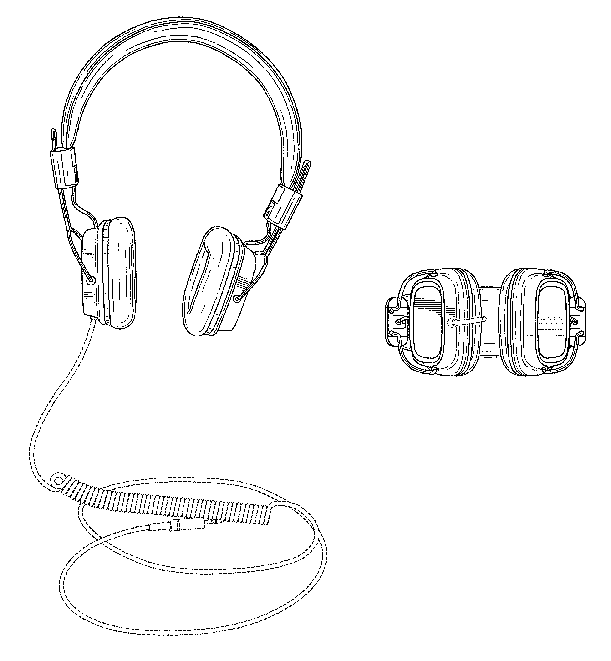 Headphones drawing simple