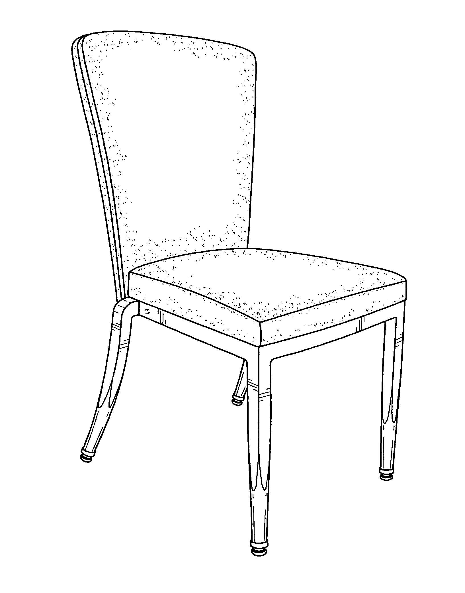 Line Drawing Chair : Patent usd stacking chair google patents