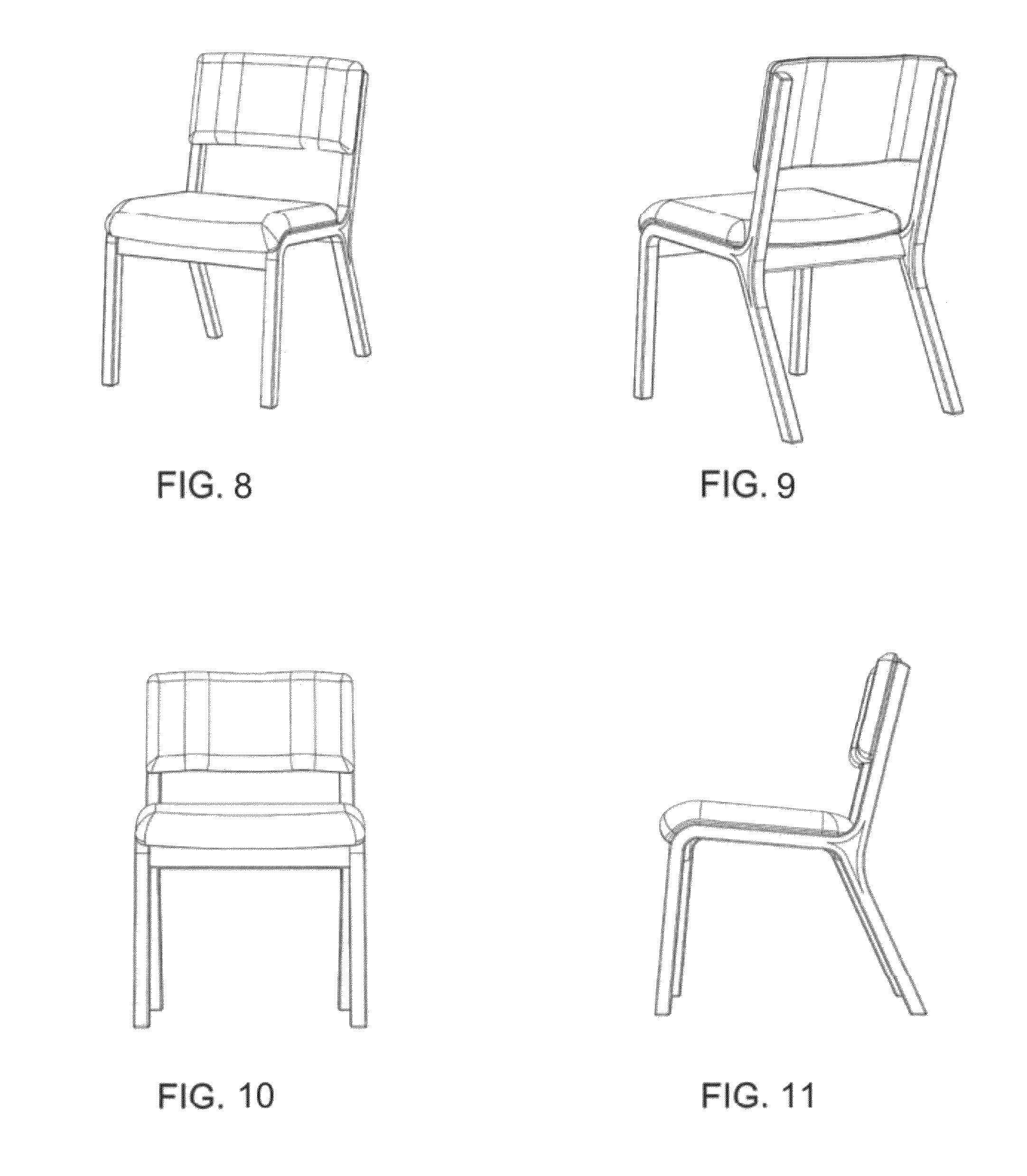 Plan Elevation Of Chair : Chair elevation drawing pictures to pin on pinterest