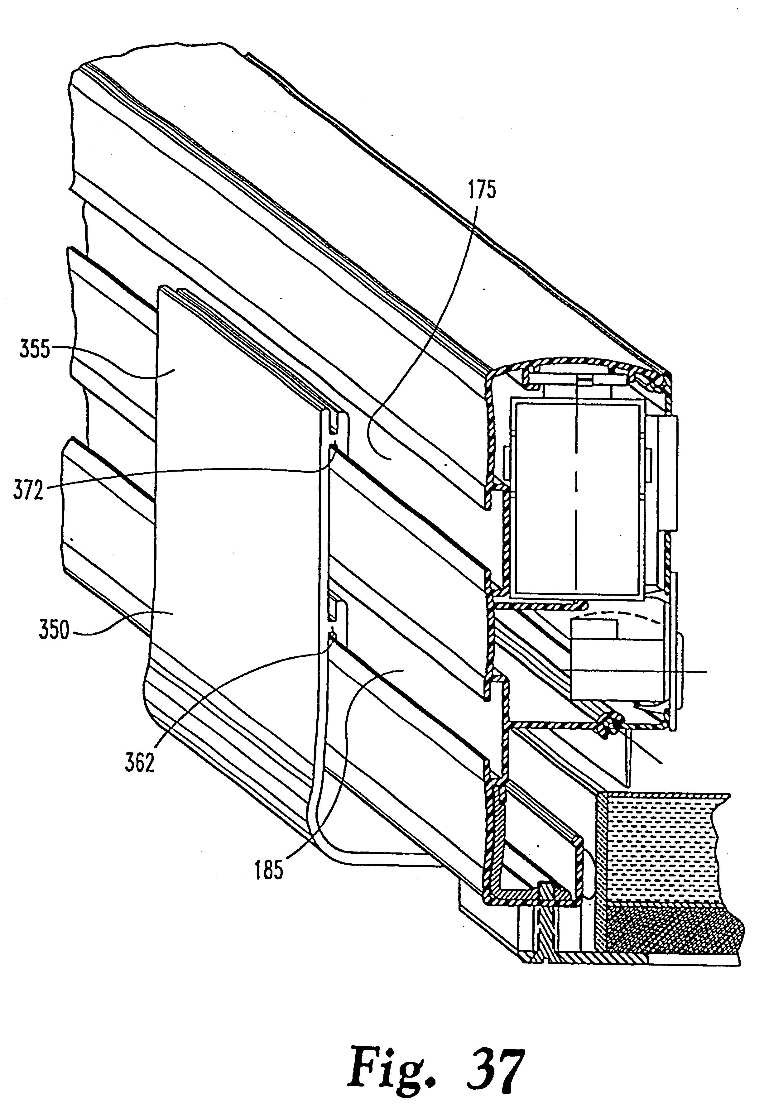 patent usre38709 - electrical raceway assembly
