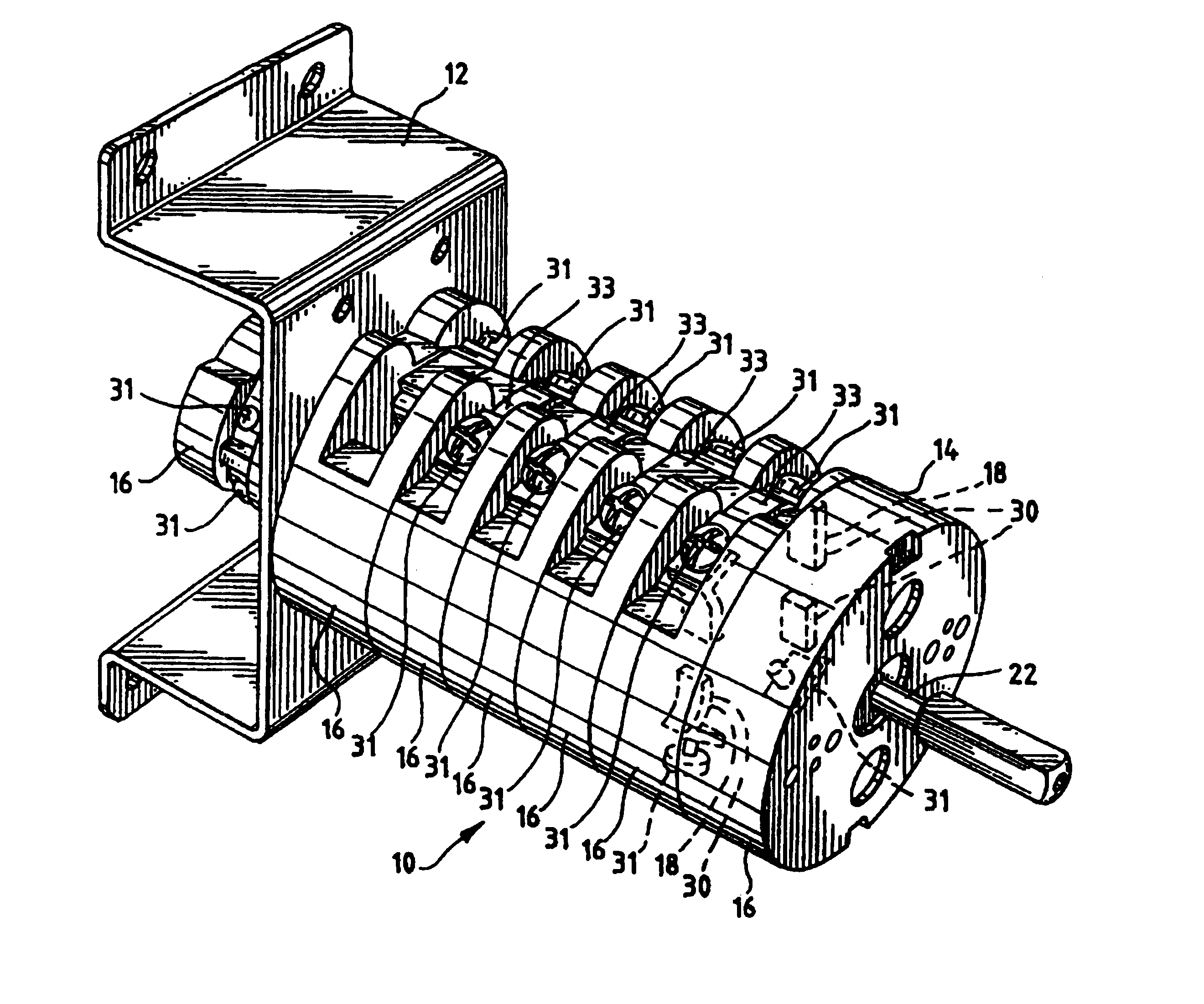 patent usre40161 cam operated inverter bypass safety switch patent drawing
