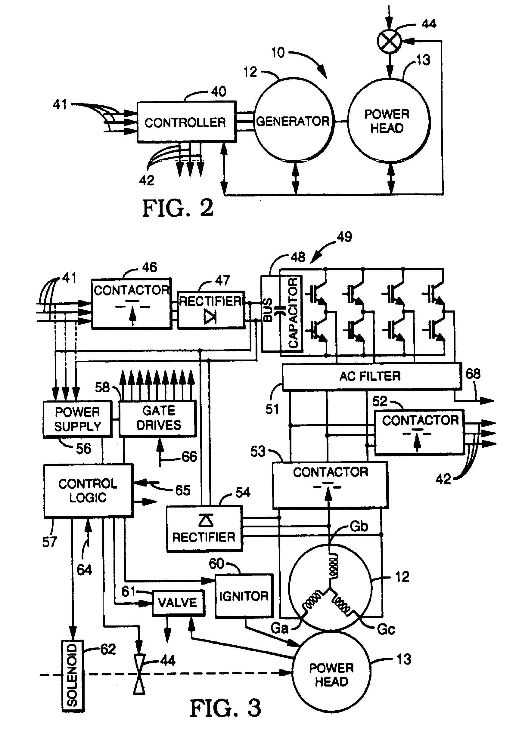 Patent USRE40713 - Turbogenerator/motor controller - Google Patents