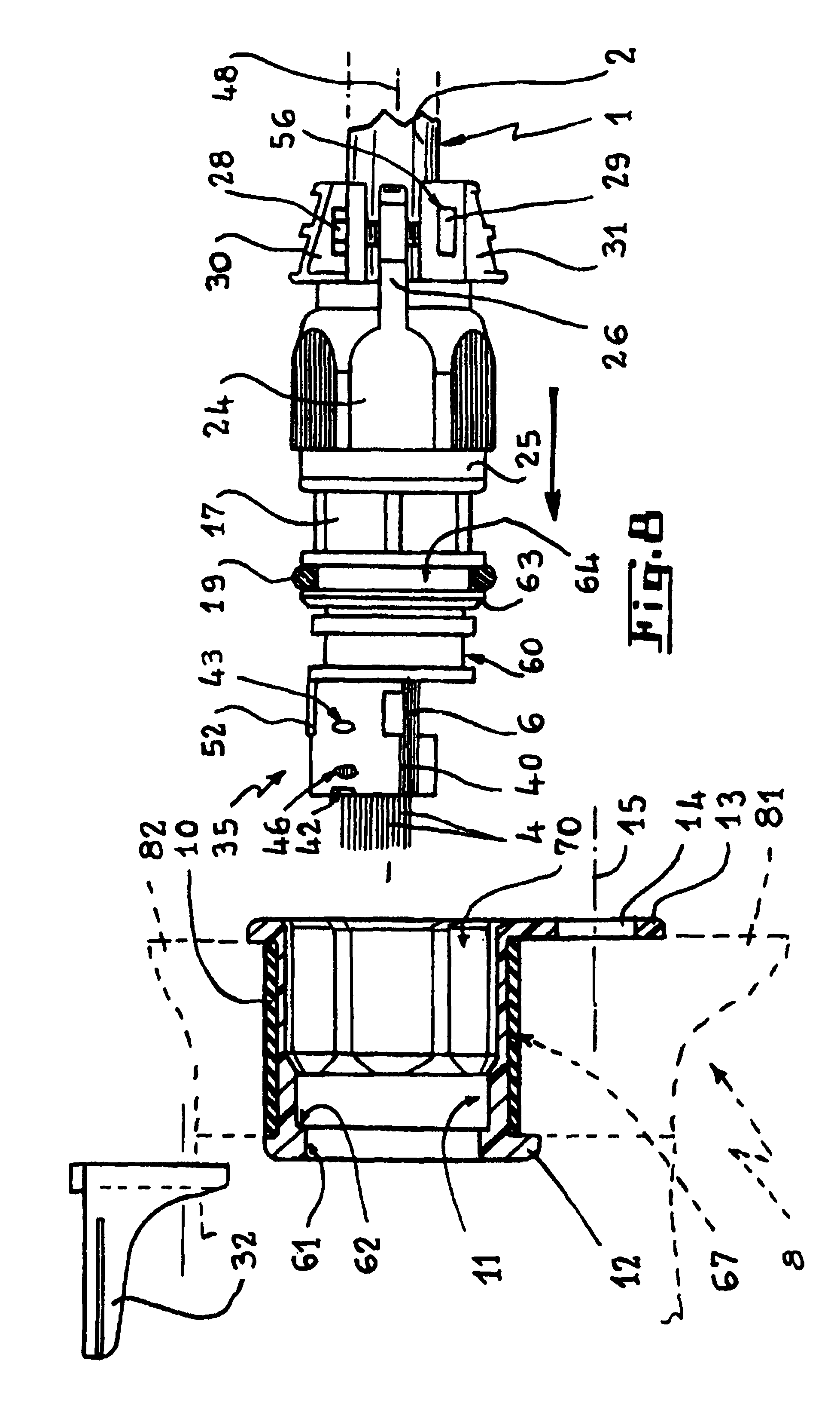 cable stuffing box