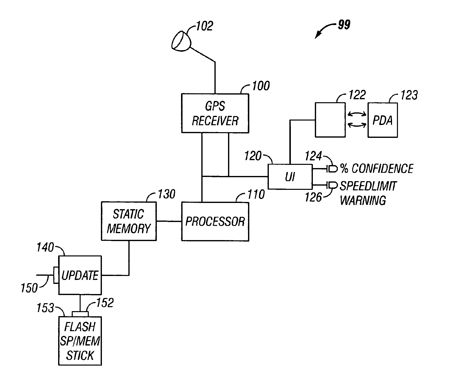 patent usre43620 non real time traffic system for a navigator patent drawing
