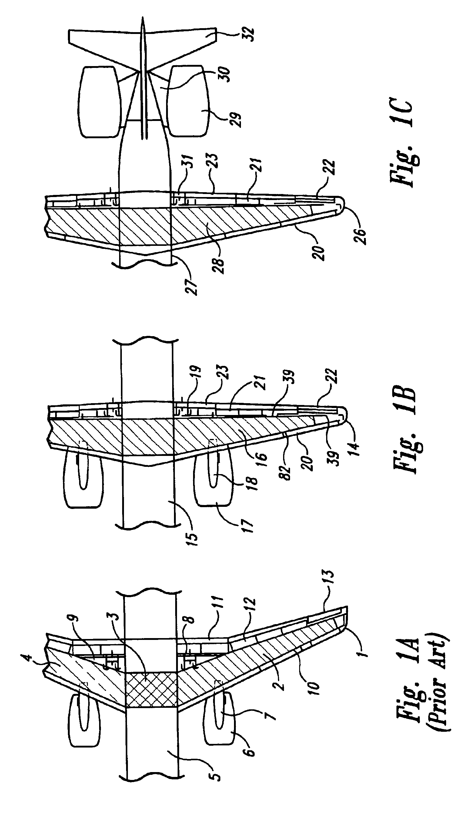 patent usre44313 - airplane with unswept slotted cruise wing airfoil