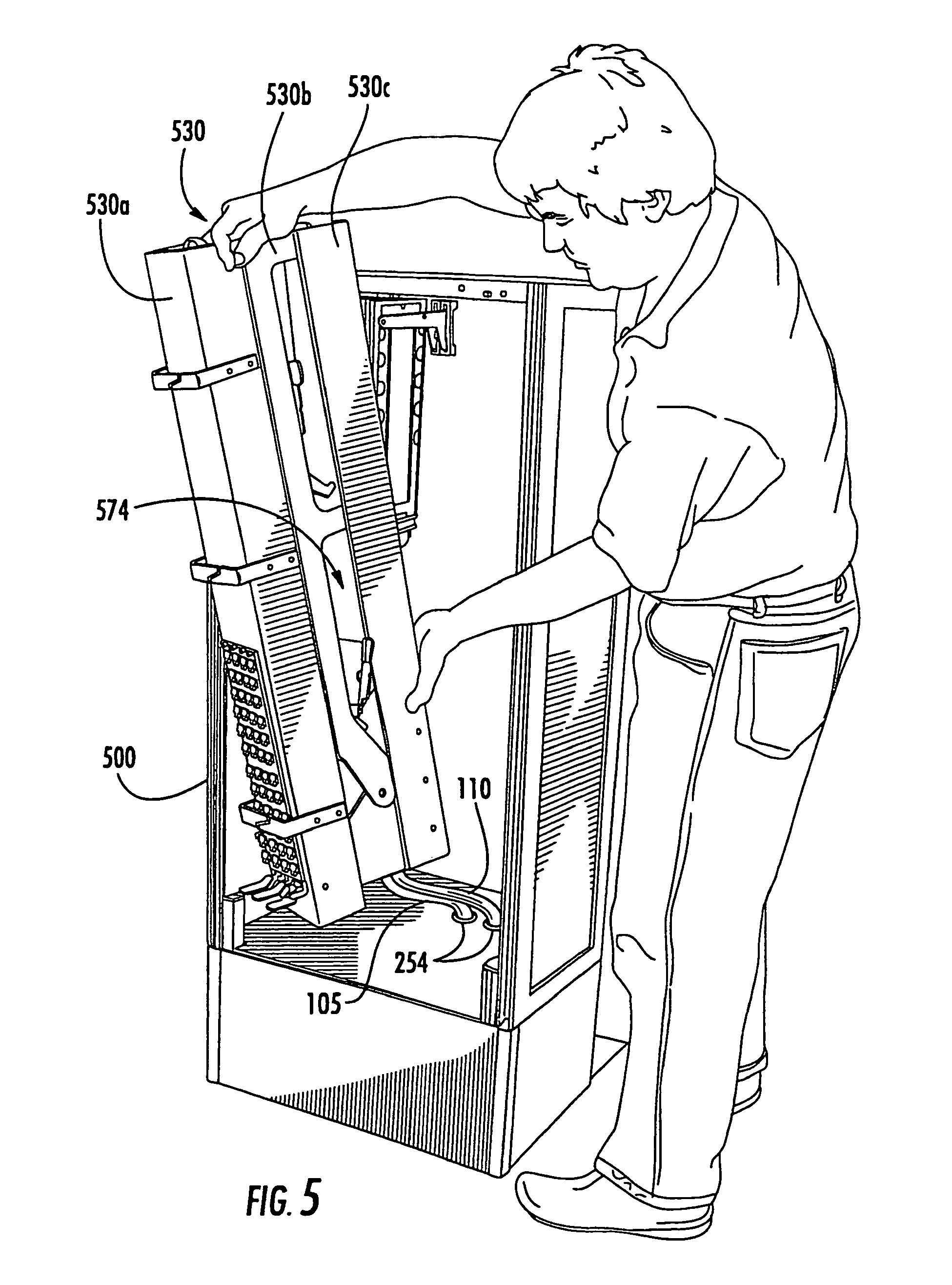 patent usre44758 optical fiber interconnect cabinets patent drawing