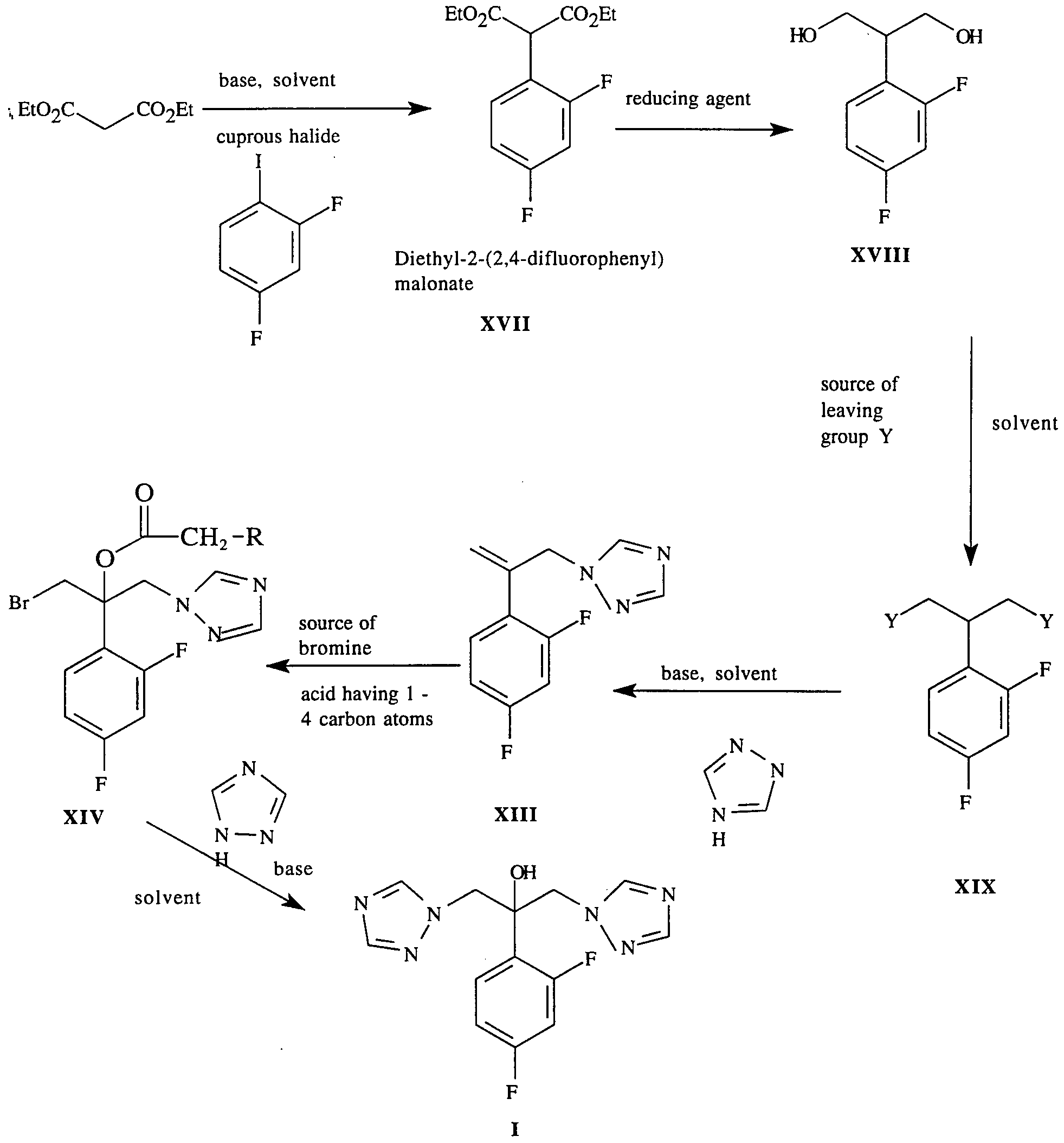 Chemical synthesis of fluconazole mechanism of synthesis of benzotriazole