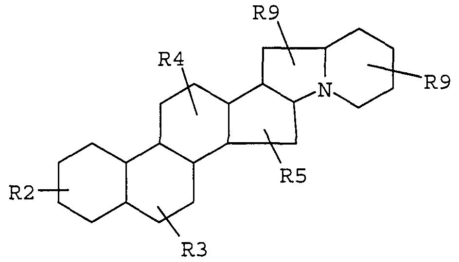 steroidal alkaloid structure