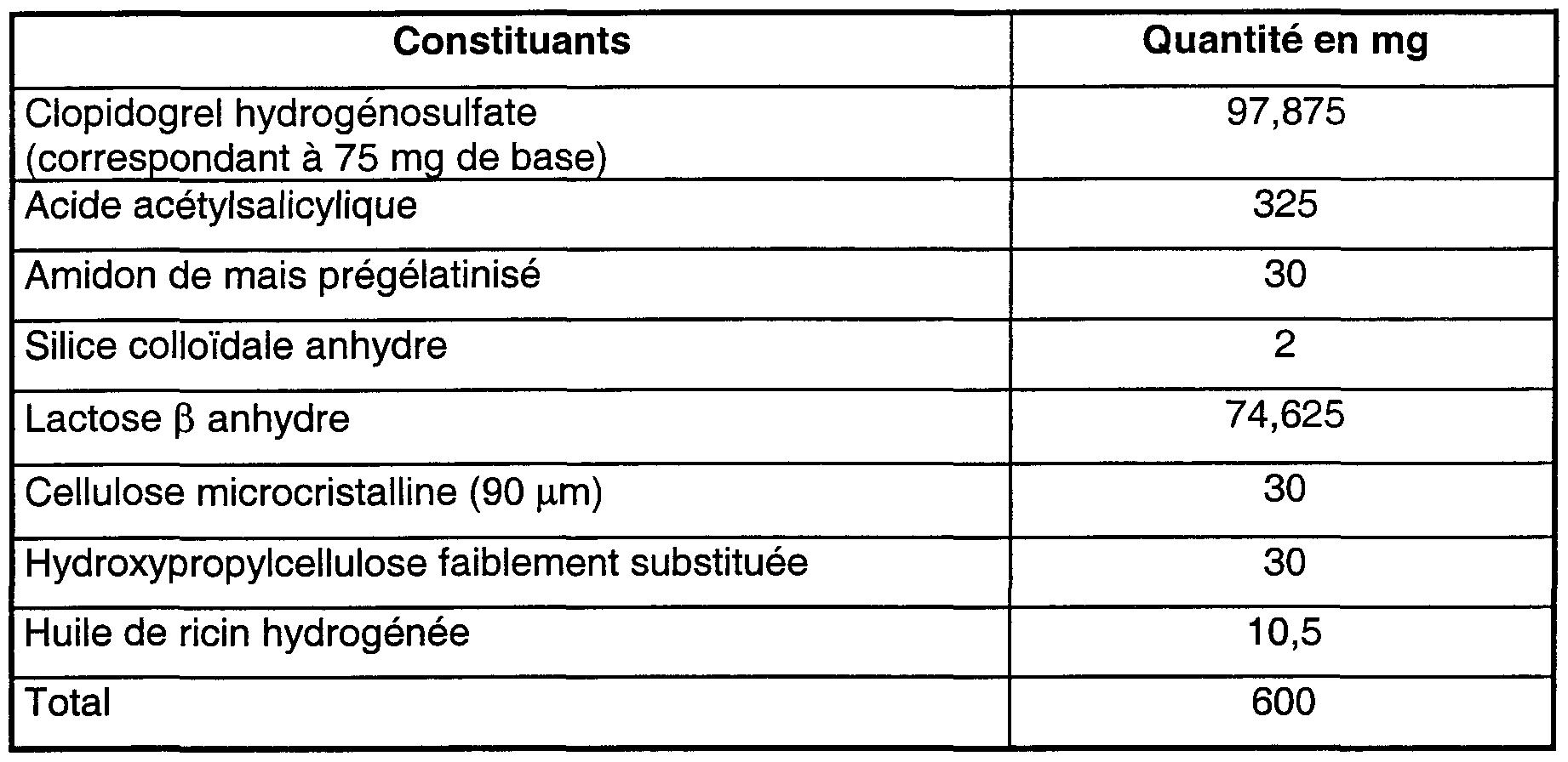 Patent ep1178809a1 composition pharmaceutique sous forme unitaire contenant de l 39 acide - Acide citrique anhydre ...