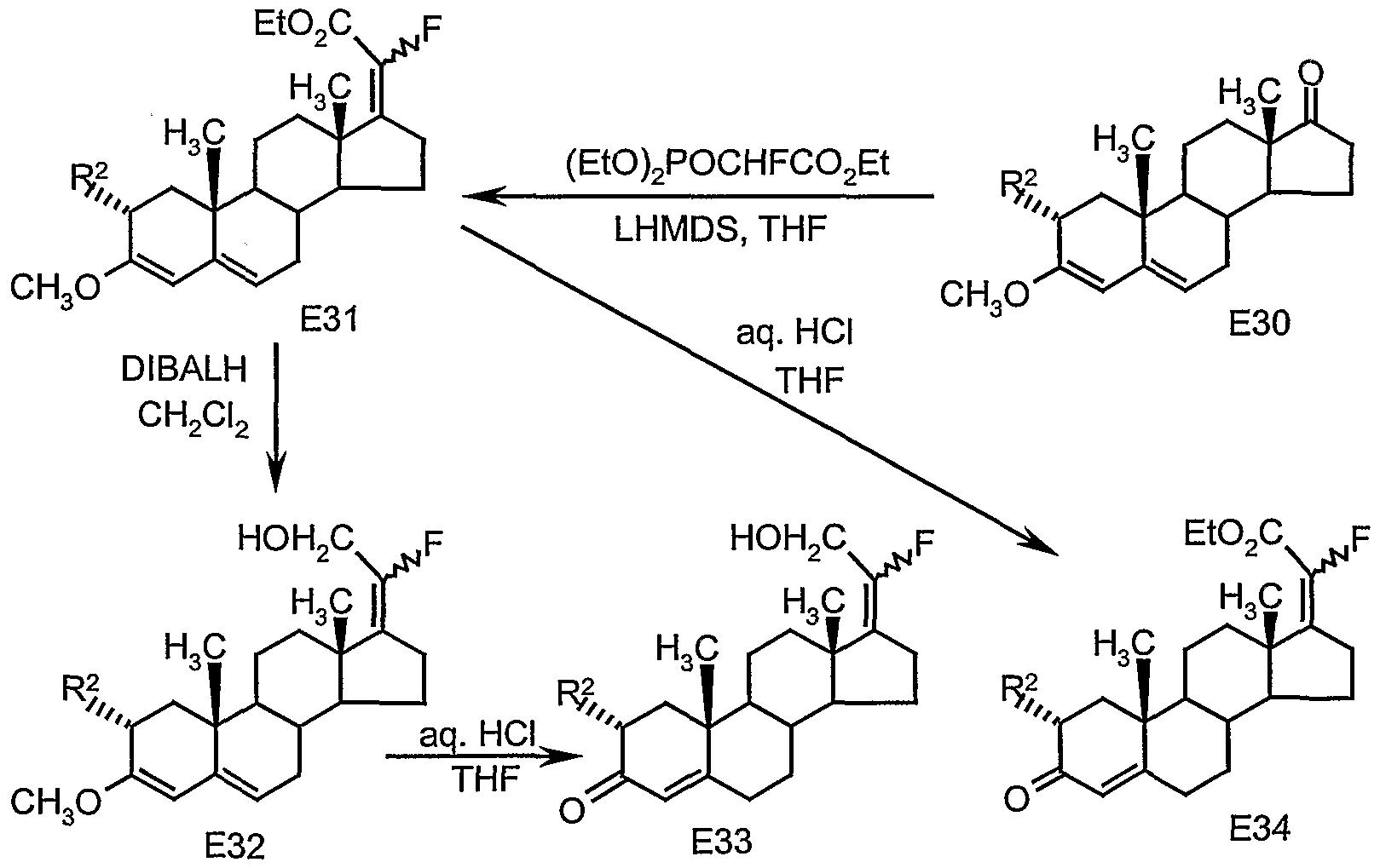 Patent Ep1409512a1 20 Fluoro 17 20 Vinyl Steroids As