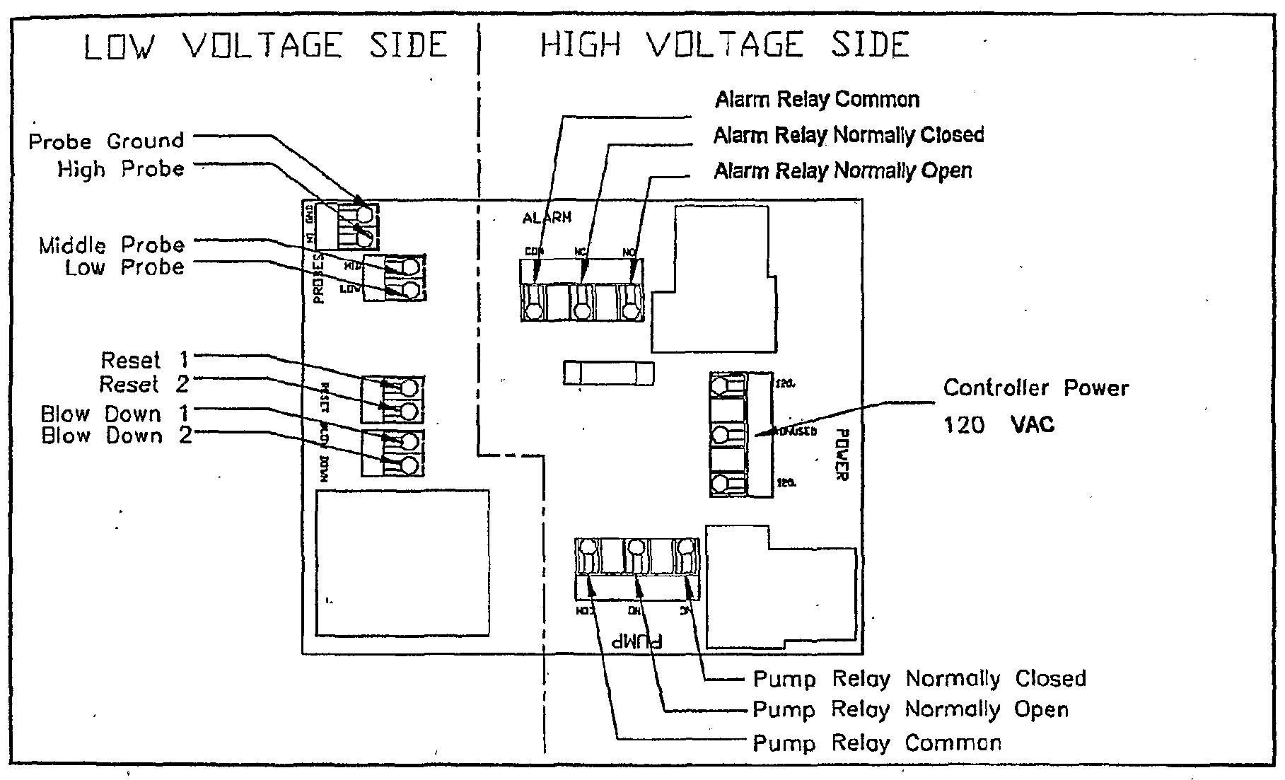 Patent WOA Automatic Boiler Level Controller Google - Normally open normally closed common relay