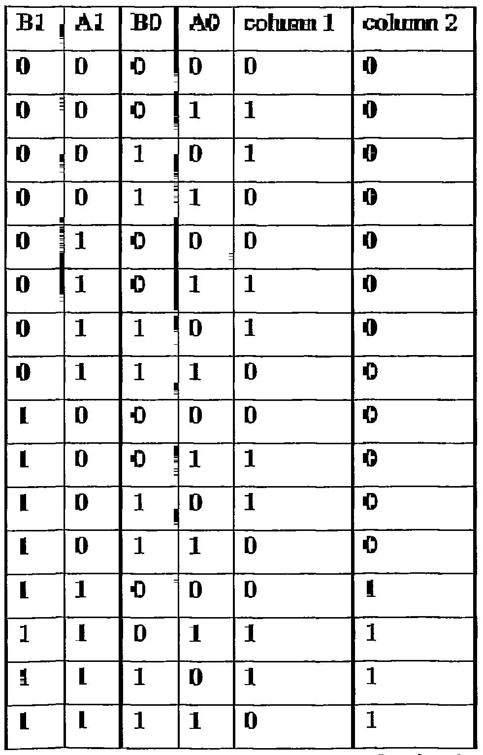 Patent WO2002093745A2 - Reconfigurable logic device - Google Patents