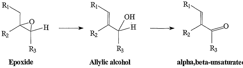 Base promoted isomerizations of epoxides for Chronogramme bascule rs