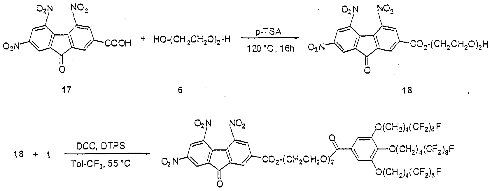 column chromatography of fluorene and fluorenone