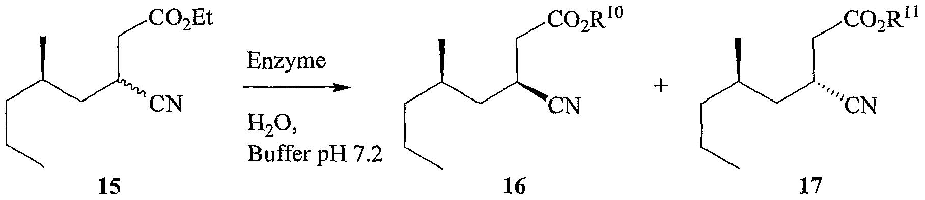 Patent EP1973867A1 - Preparation of gamma-amino acids having ...