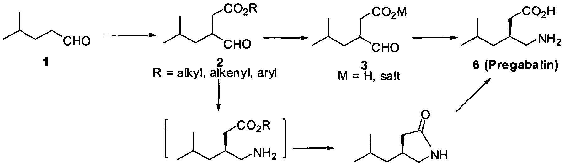 pregabalin s-enantiomer of cysteine