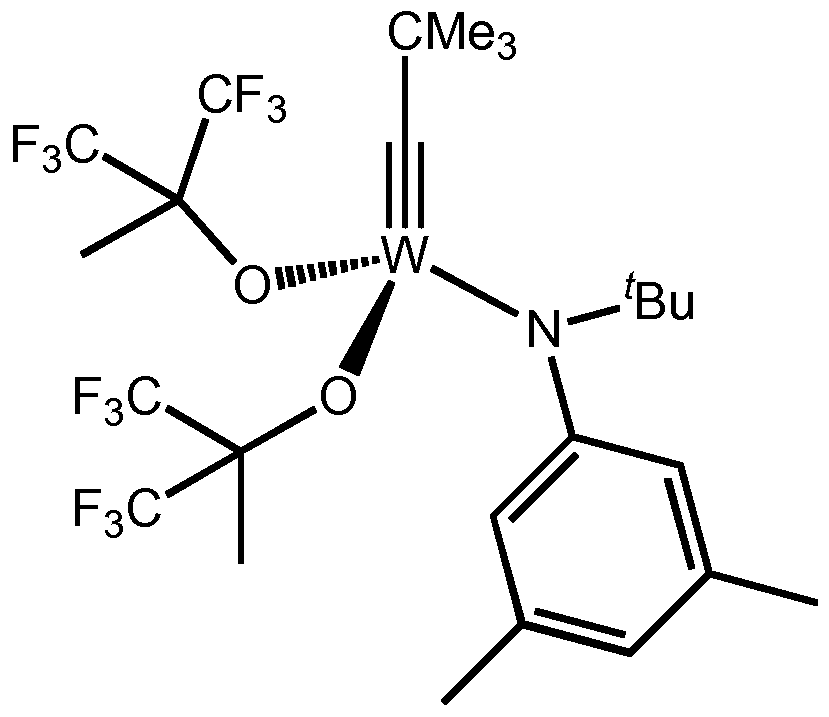 catalyst alkyne metathesis