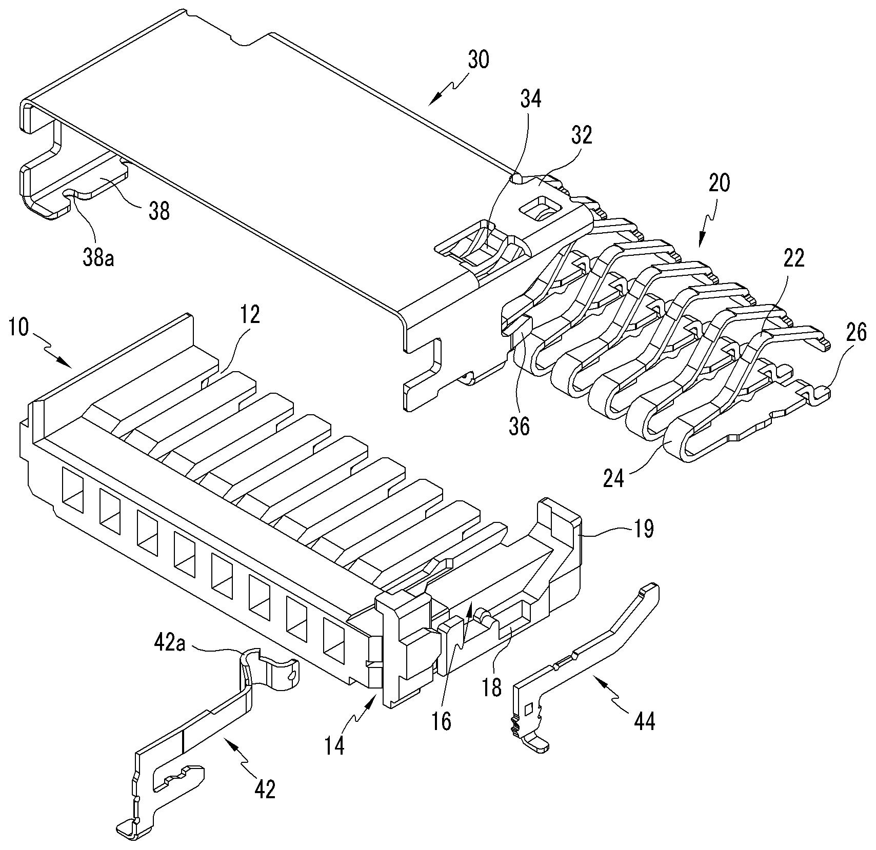 micro sd header connector