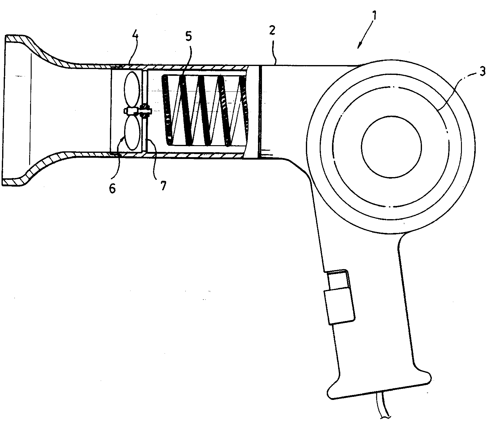 Hair dryer dyson patent